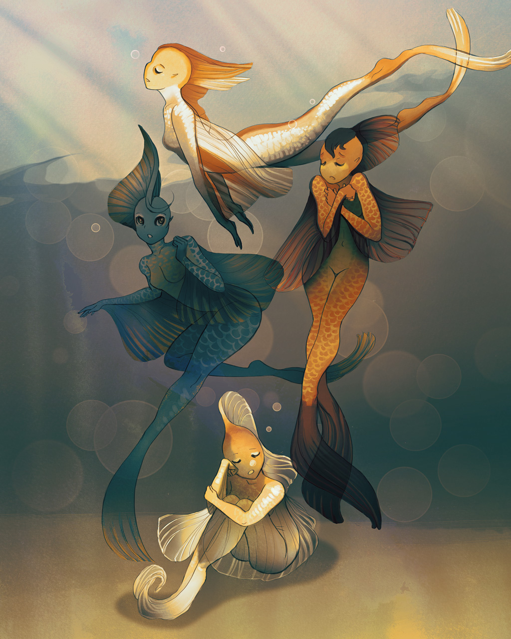 Goldfish Mermaids