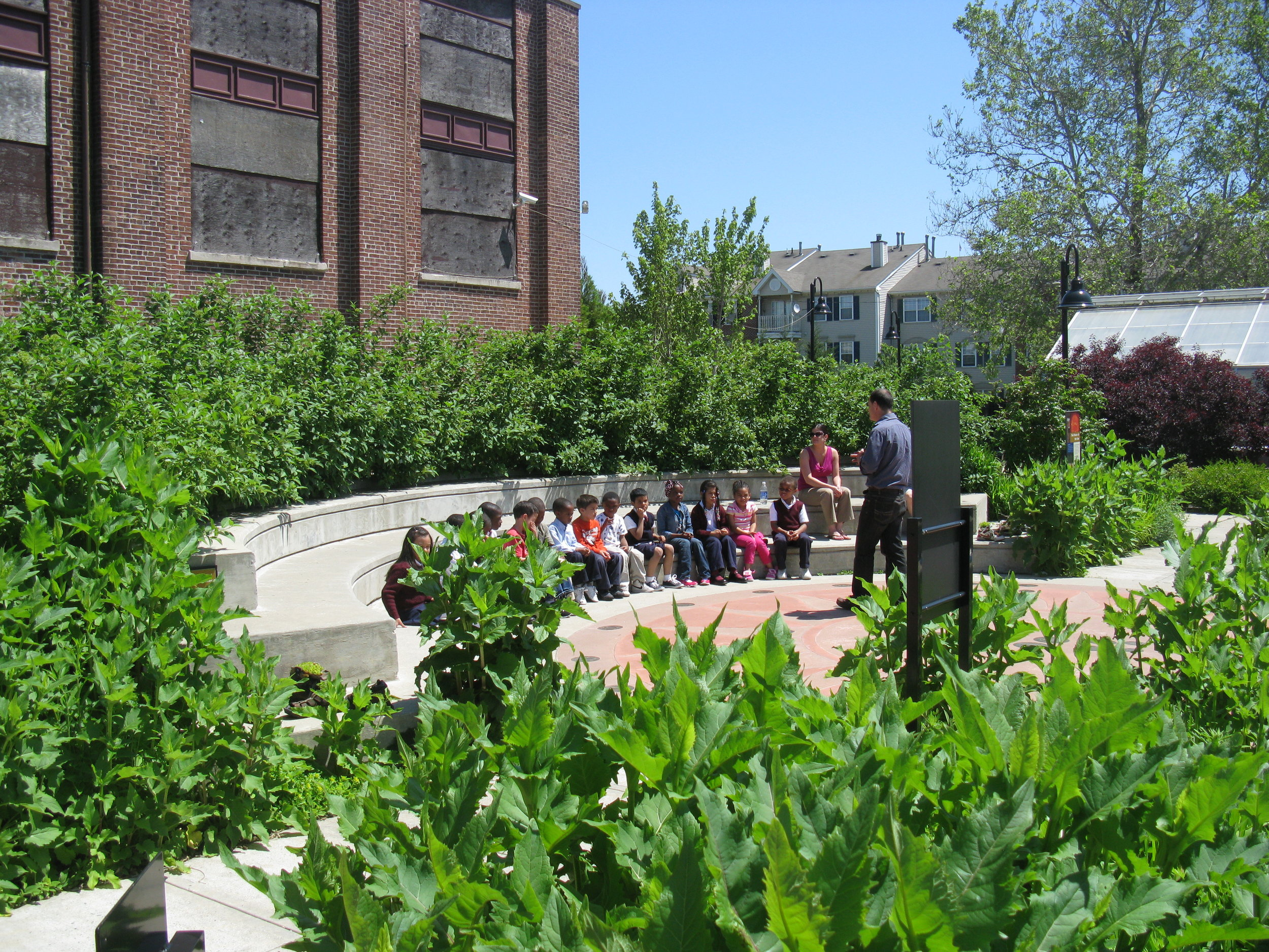 outdoor learning center -