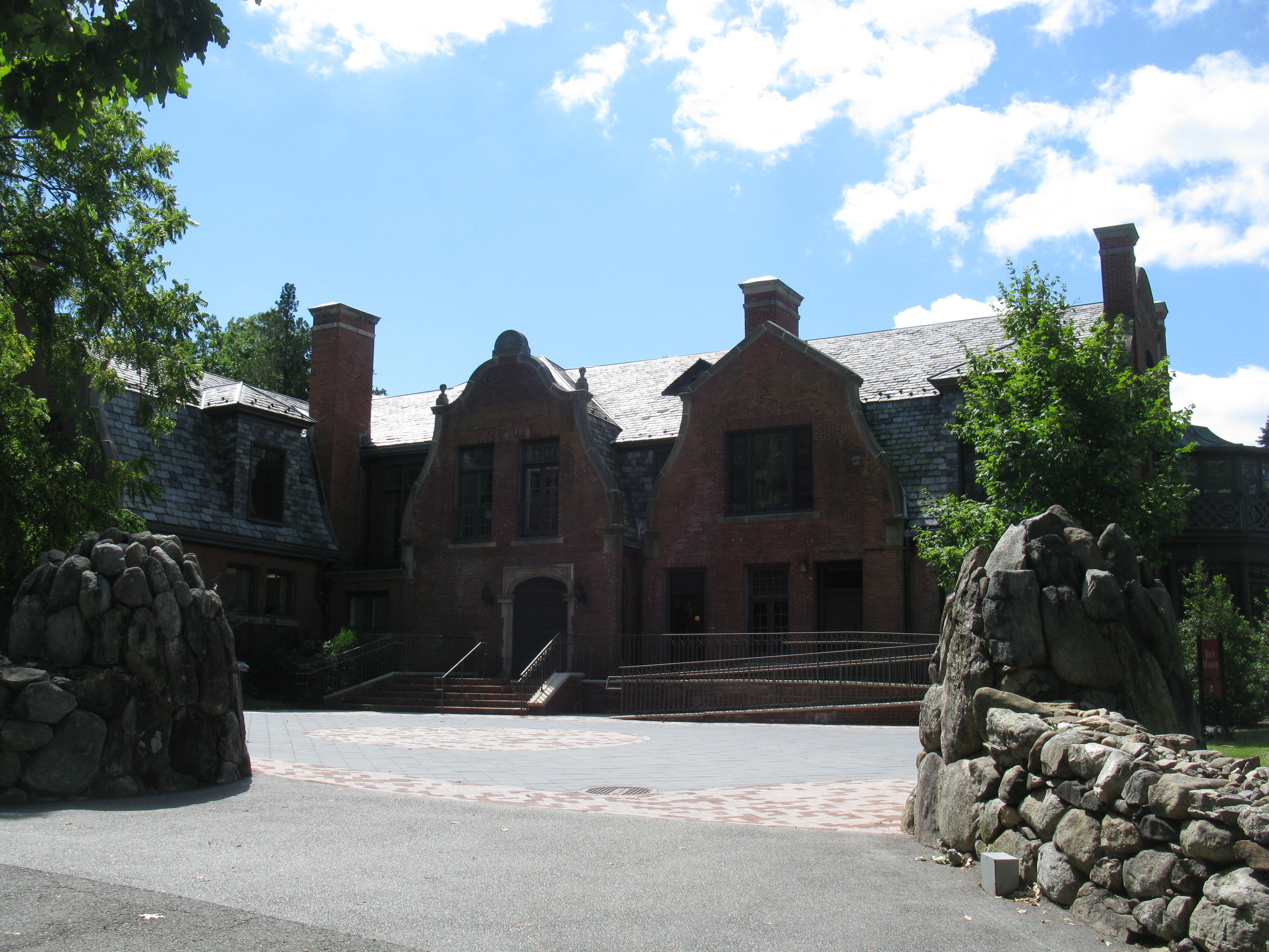 birch mansion at ramapo college -