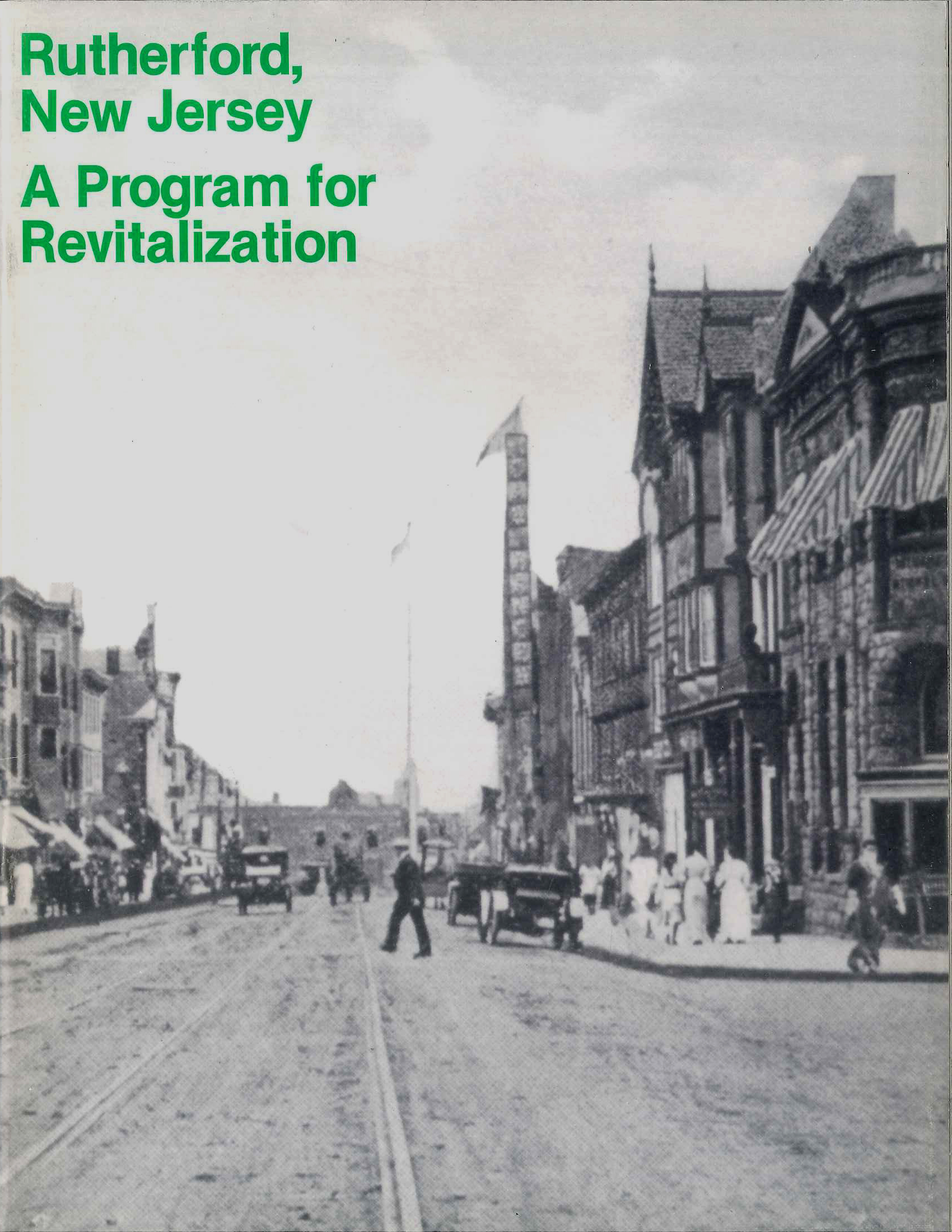 Rutherford, New Jersey Master PlanA Program for Revitalization -