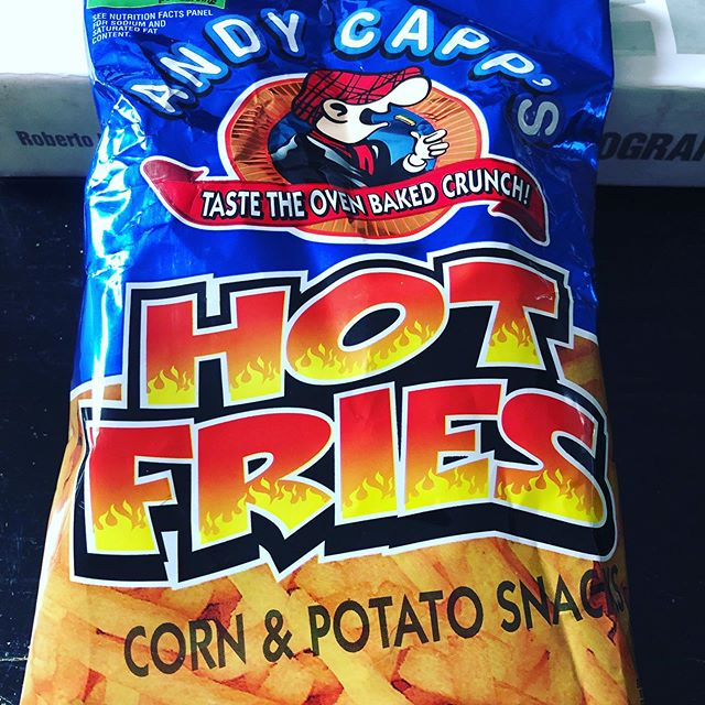 Looking forward to sampling these bad boys! #Andycapp #crisps #foodporn #desertcrisps #food #snacks