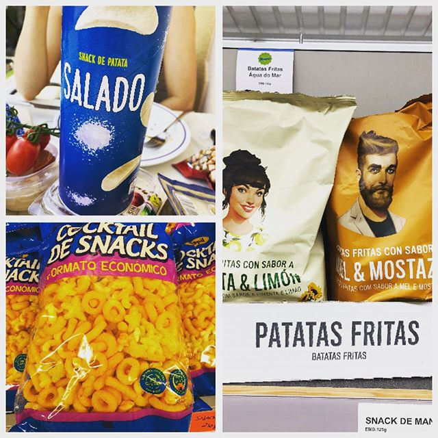 Portugal coming strong with their #crisps game!!