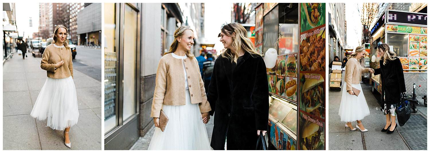 bride-and-bridesmaid-in-the-streets-of-nyc