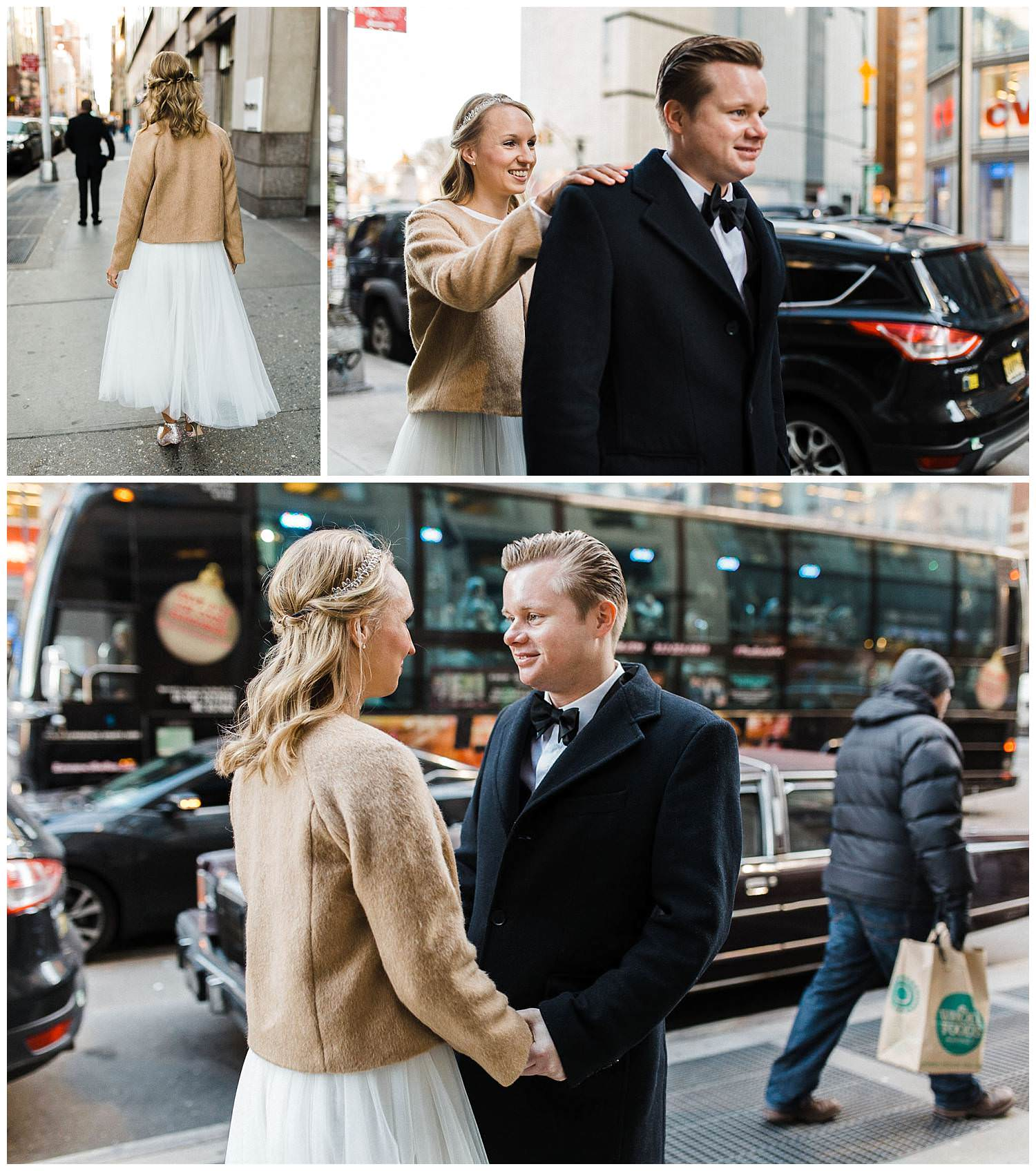 First-Look-of-bride-and-groom-in-the-streets-of-new-York