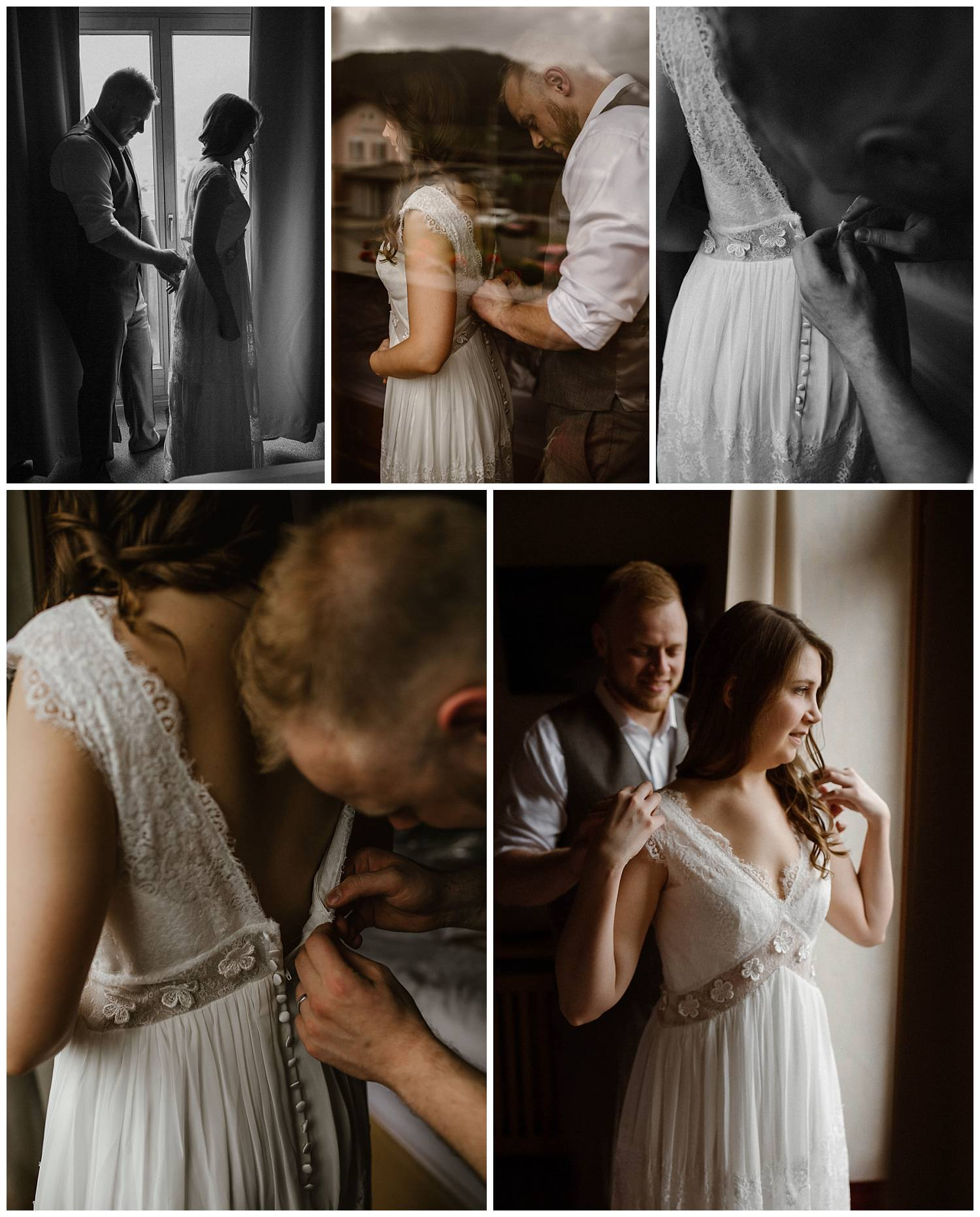 bride-and-groom-getting-ready-together-for-their-elopement
