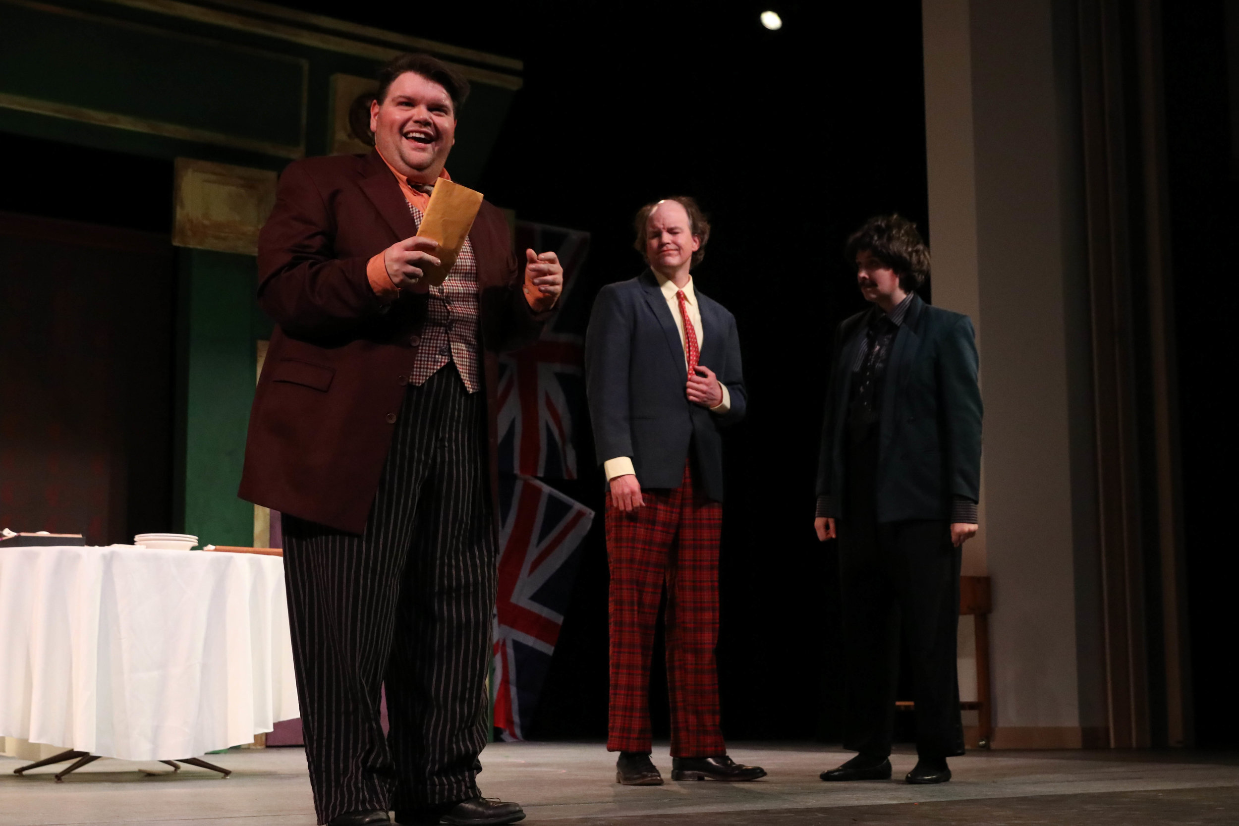 One Man, Two Guvnors // October 2018