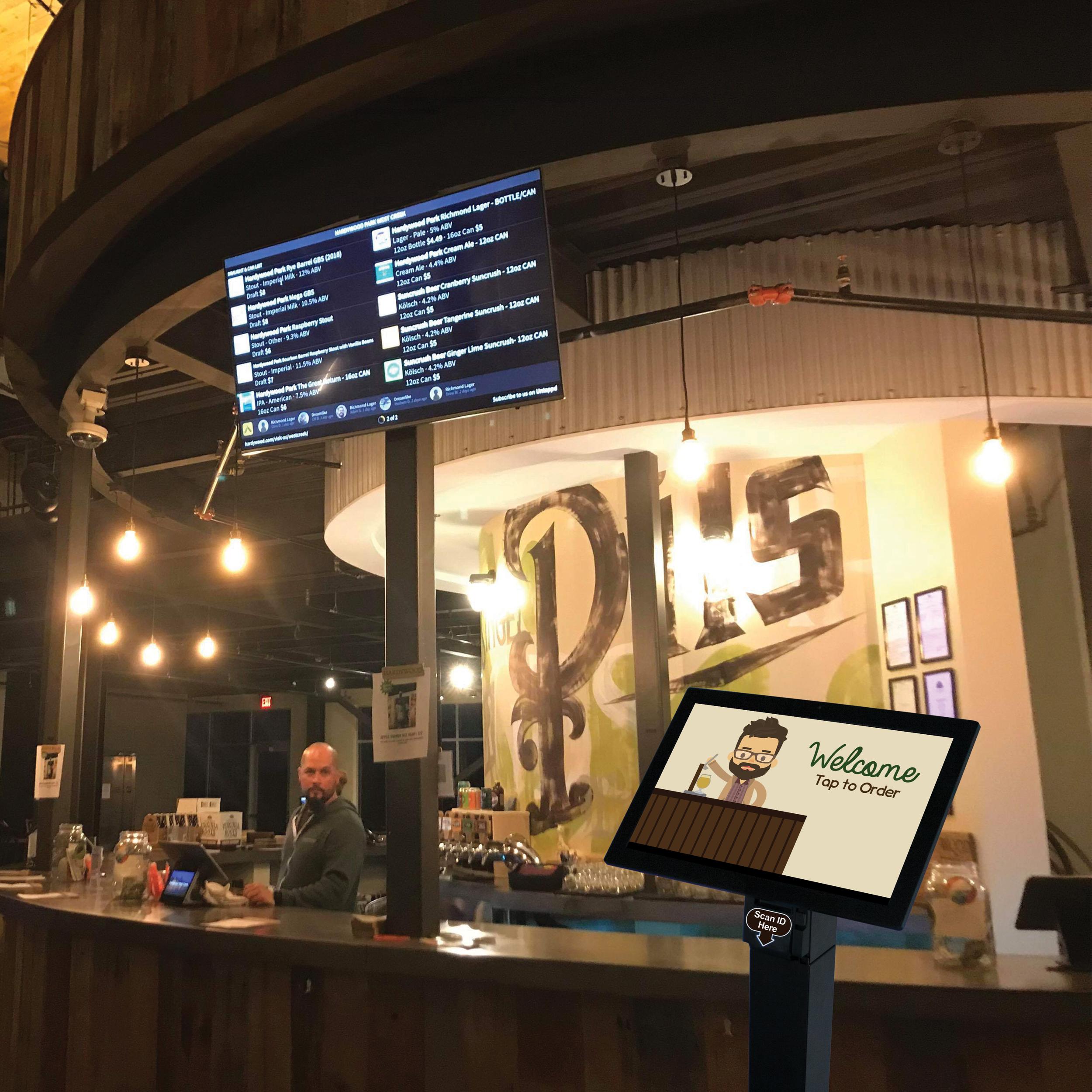 Bar Kiosk