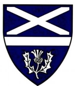 Scottish Tourist     Guide Blue        Badge