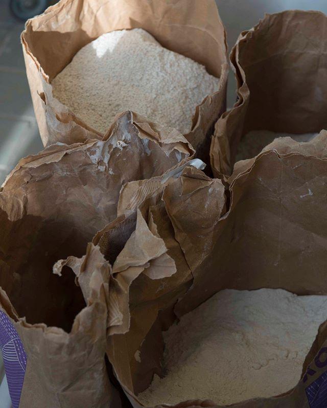 Flour from favourite @kornbymolle  #kafeteriasmk
