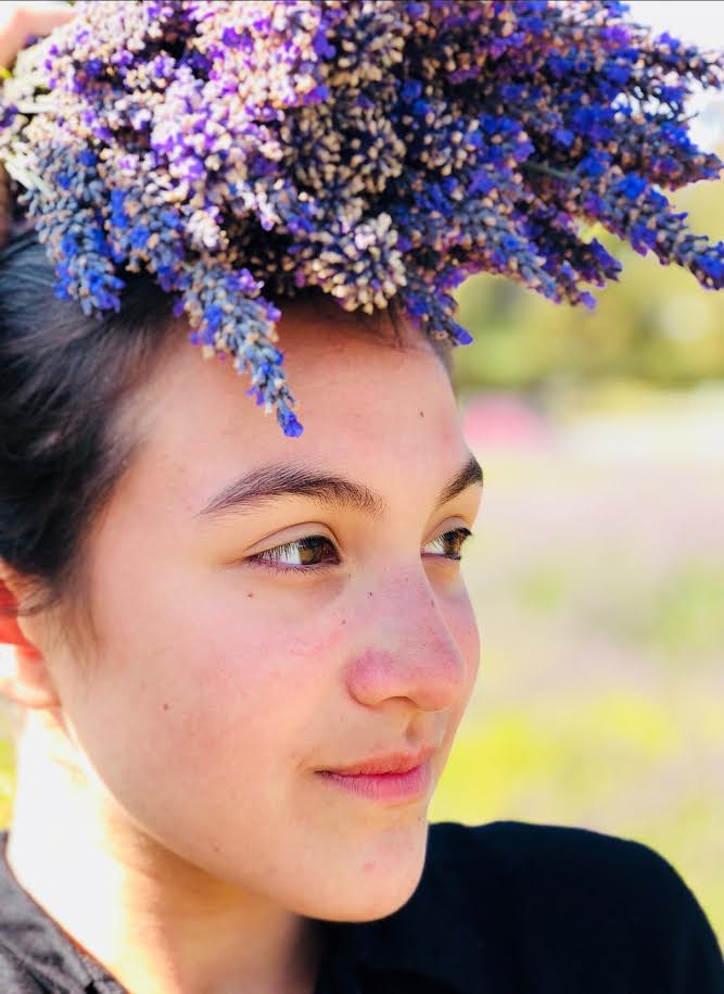 The color purple  rarely occurs in nature and, as a result, is often seen as having sacred meaning. Lavender, orchid, lilac, and violet flowers are considered delicate and precious.