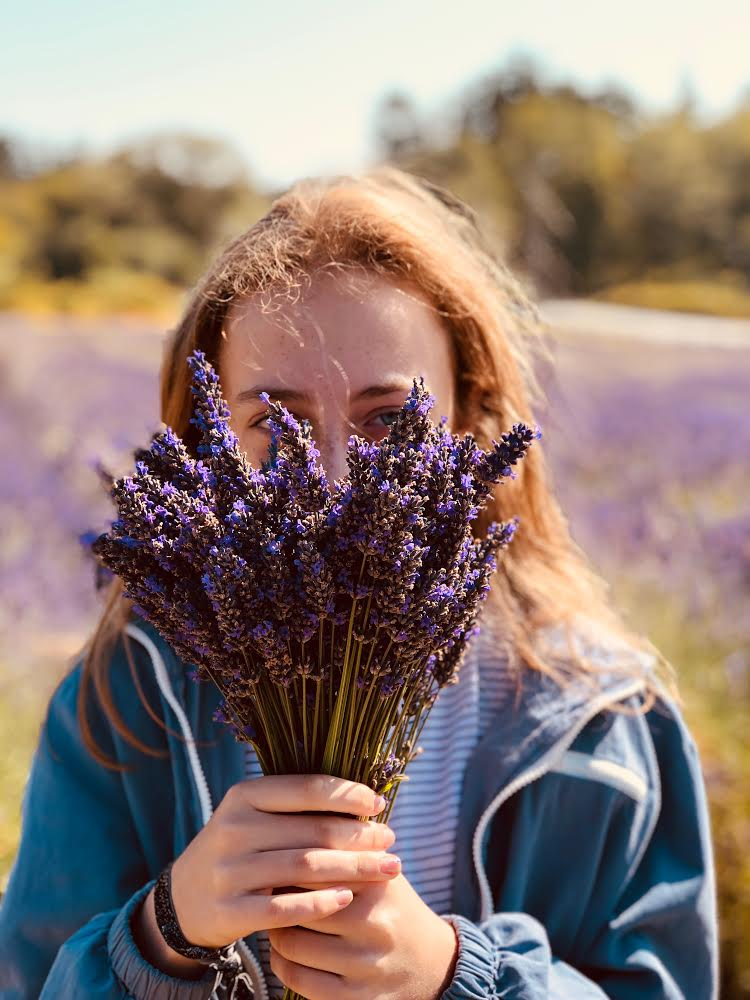 Lavender has been known for ages as a soothing herb that calms your stomach, mind, and skin.
