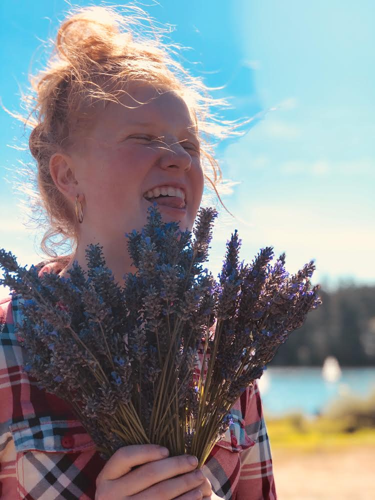 We believe that lavender induces joyfulness. Here's our proof.