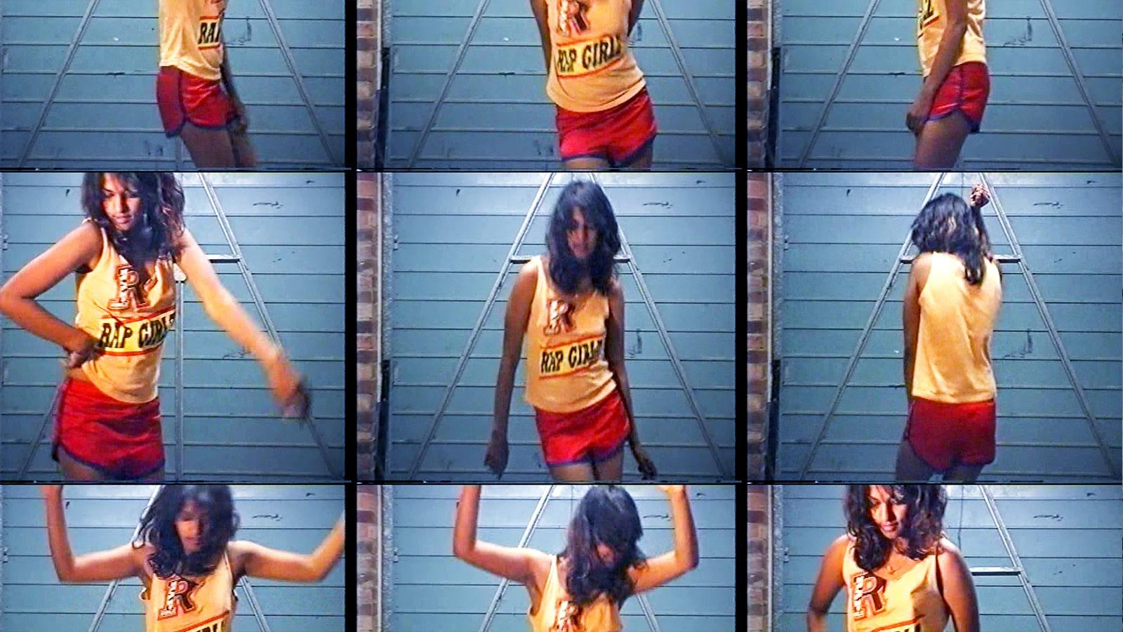 Images of M.I.A. dancing. These were included in the documentary but were filmed by M.I.A. herself.