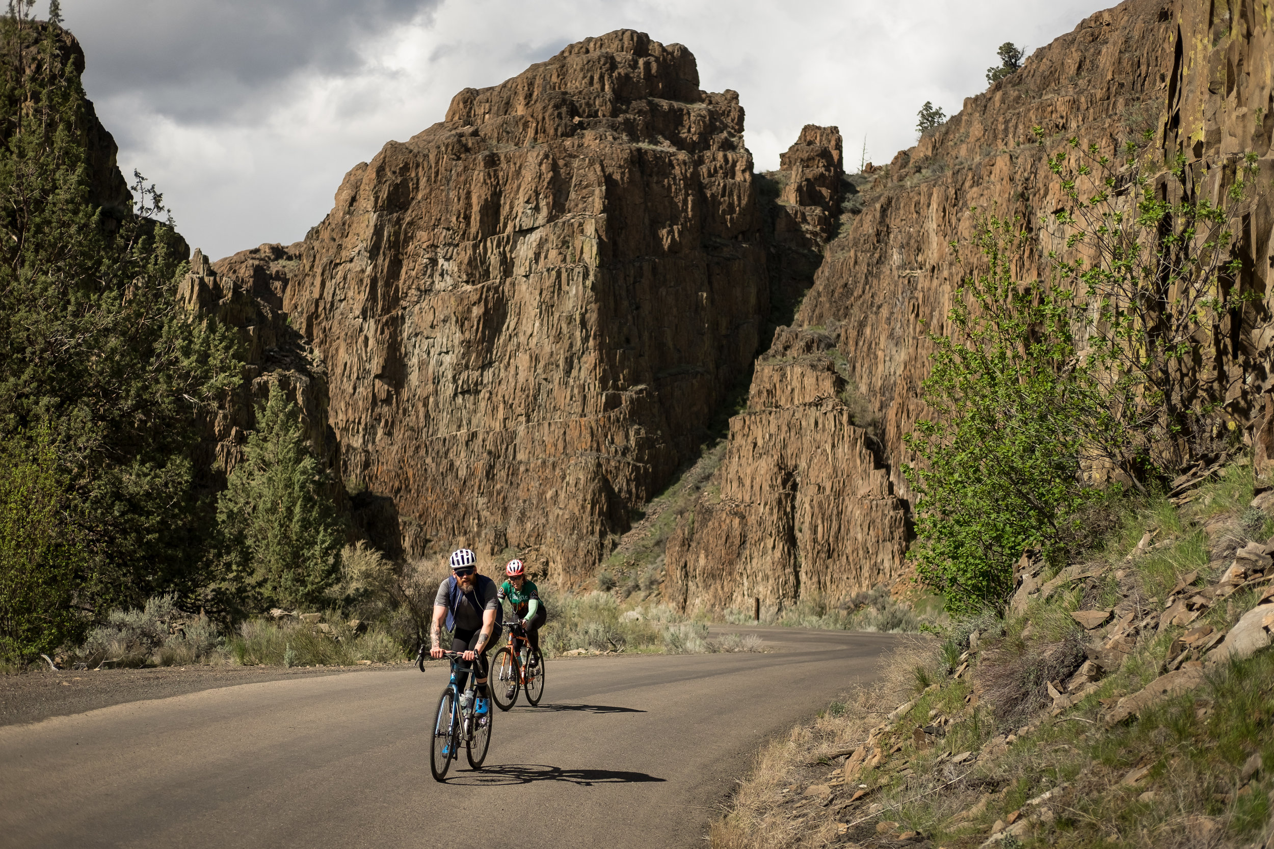 World class bicycle touring. -