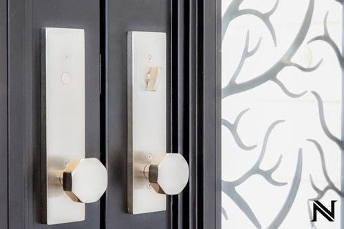 Custom wrought Iron Door - Baltic Iron Doors.