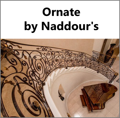 Ornate Custom Designs Naddour's Custom Metalworks Hand Forged Designs Serving Orange County, Los Angeles County, San Diego, and Northern California