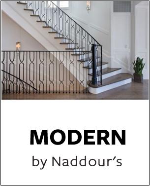 Modern Collection by Naddour's Custom Metalworks Staircase Railings Balcony Railings Driveway & Pedestrian Gates Gazebos & Trellises