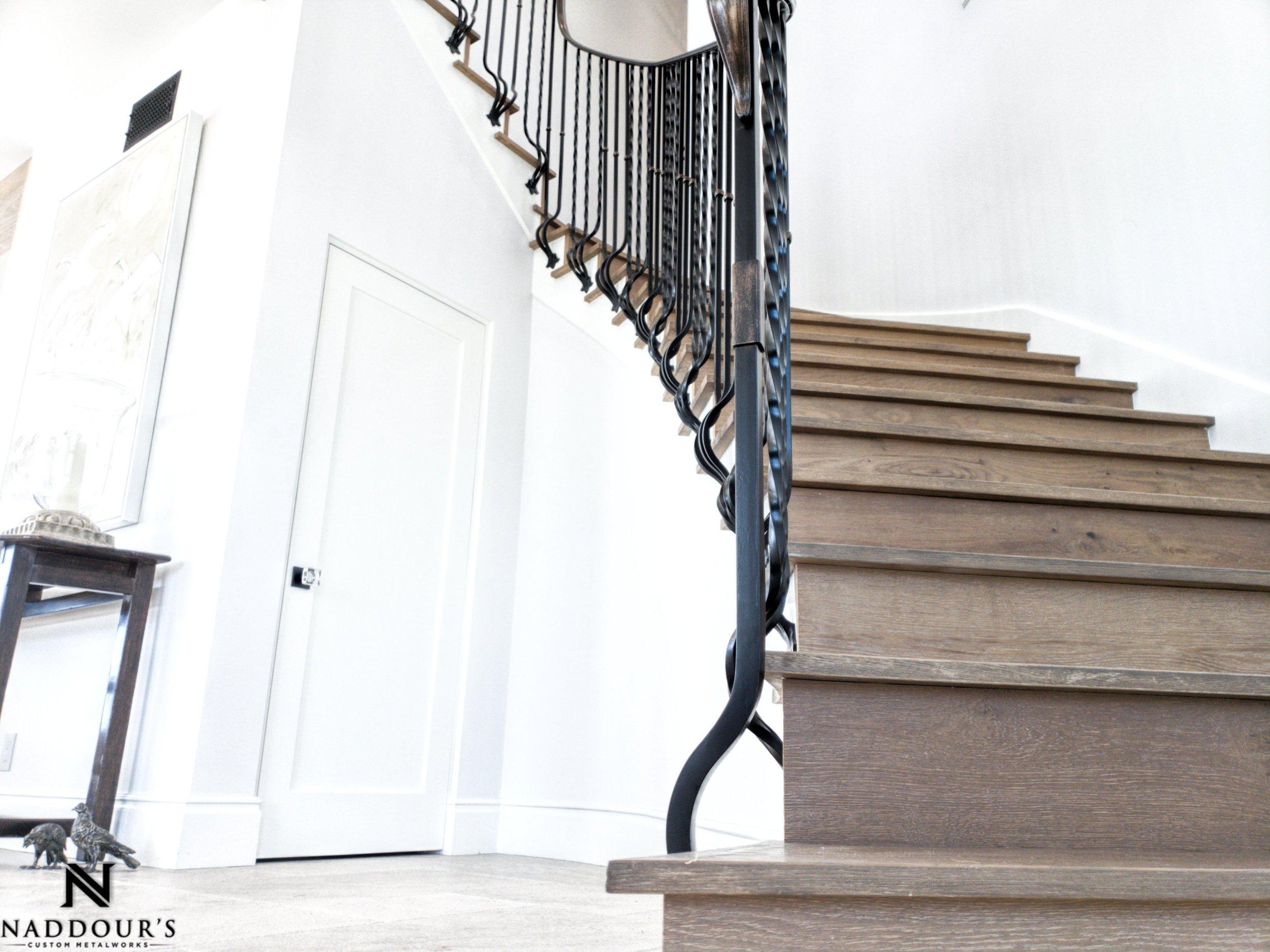 Naddour's Custom Metalworks Featured Project Dana Point California Custom Staircase Railing 1-min.jpeg