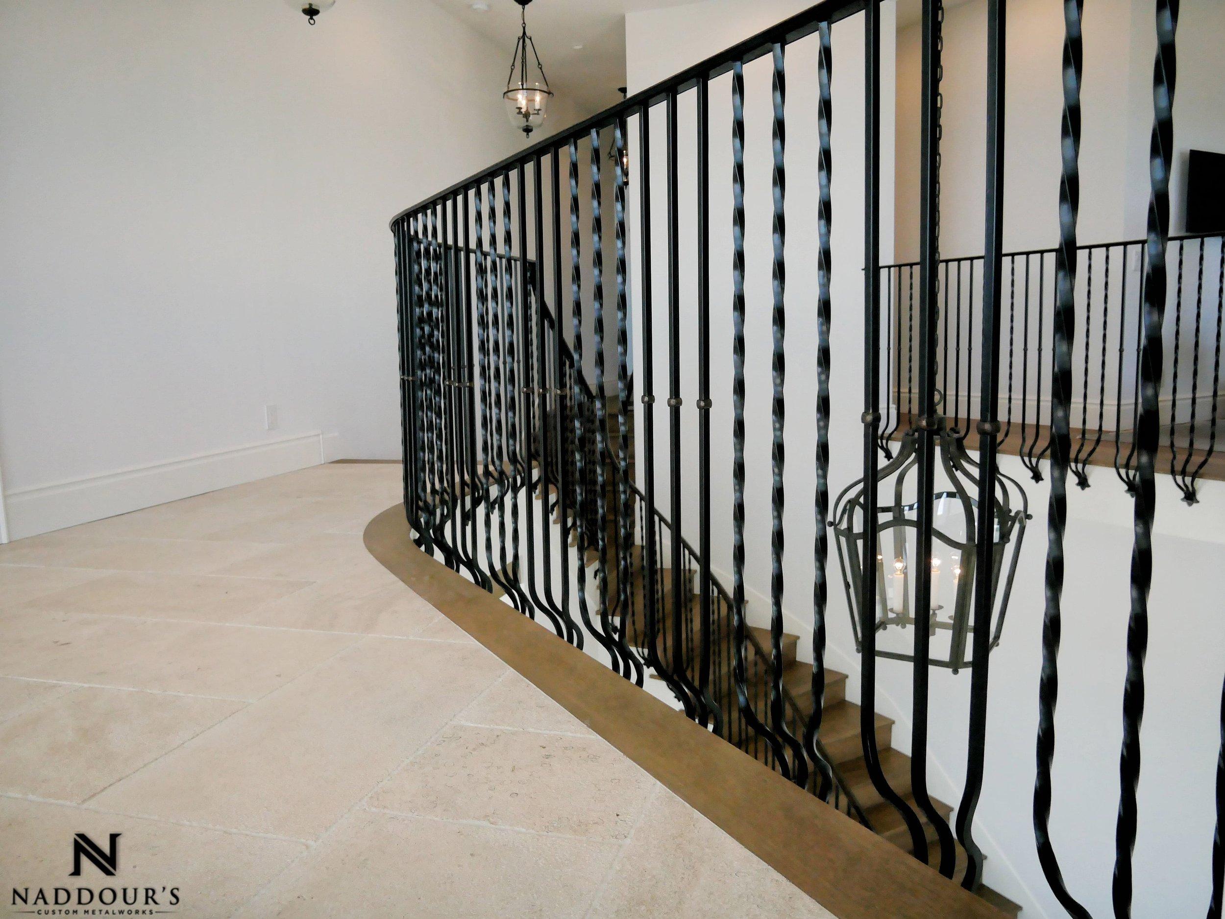 Naddour's Custom Metalworks Featured Project Dana Point California Custom Staircase Railing 5-min.jpeg