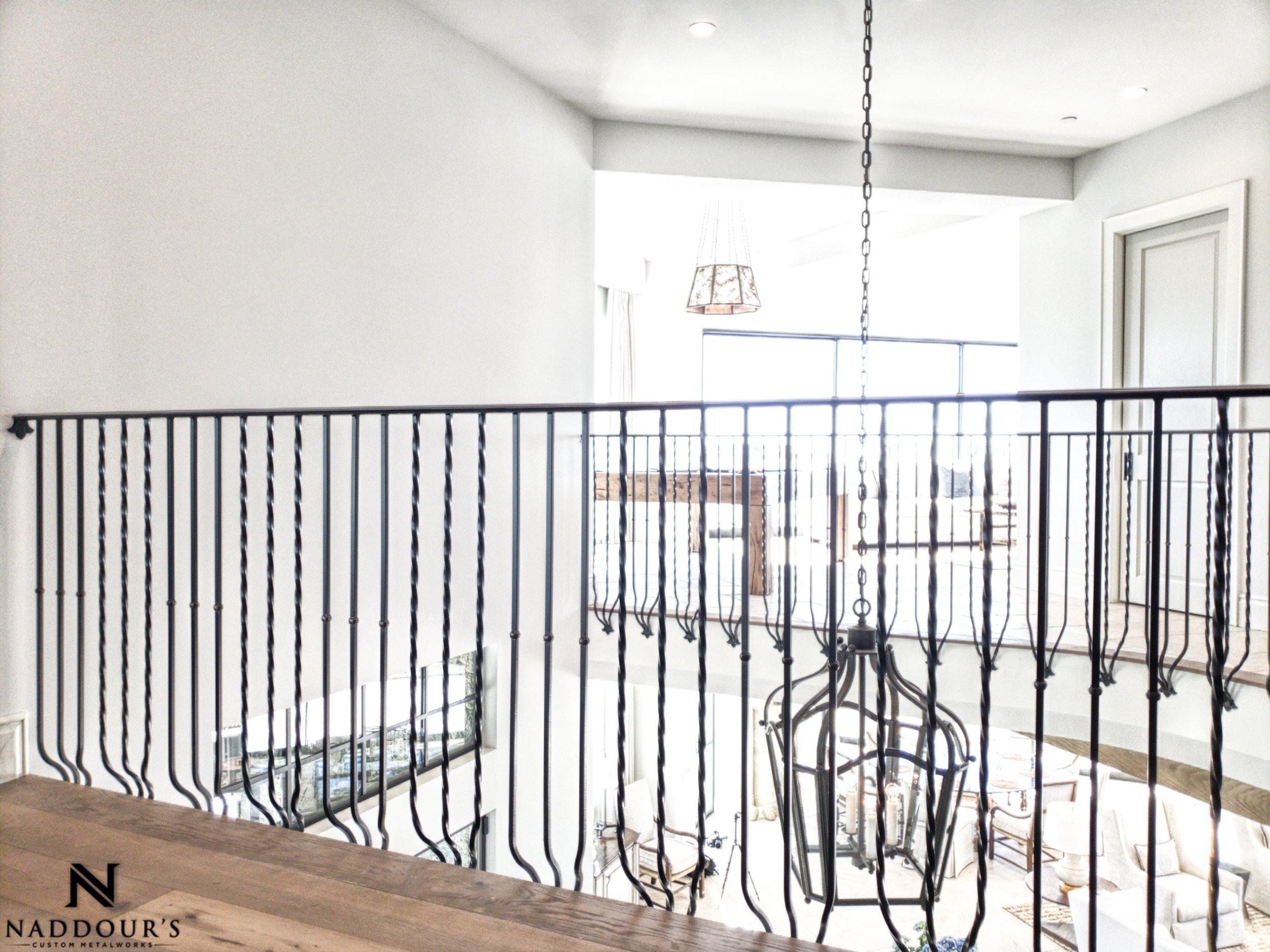 Naddour's Custom Metalworks Featured Project Dana Point California Custom Staircase Railing 9-min.jpeg