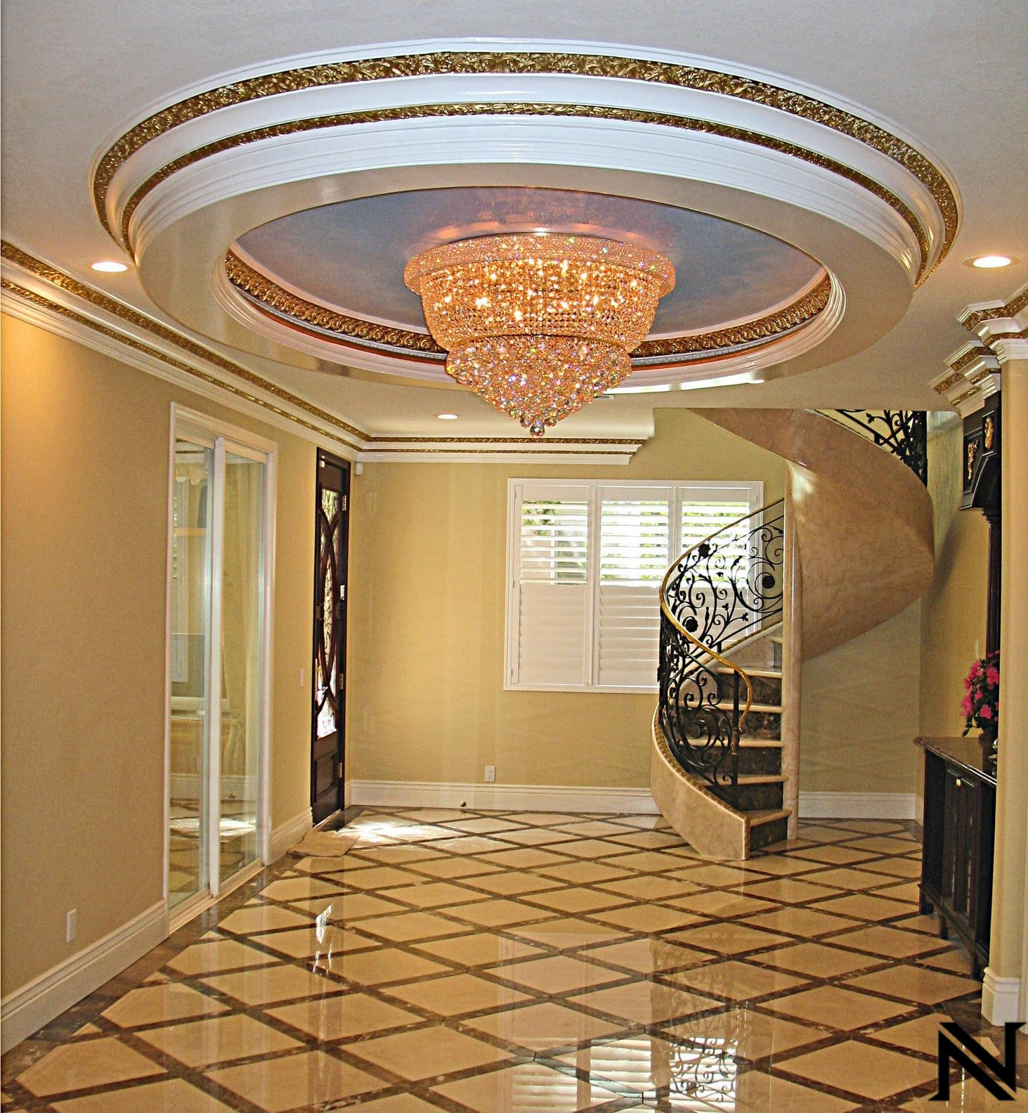 Spiral Staircase with Metalwork RailingsStaircase Railings Design Ideas Naddour's Custom Metalworks