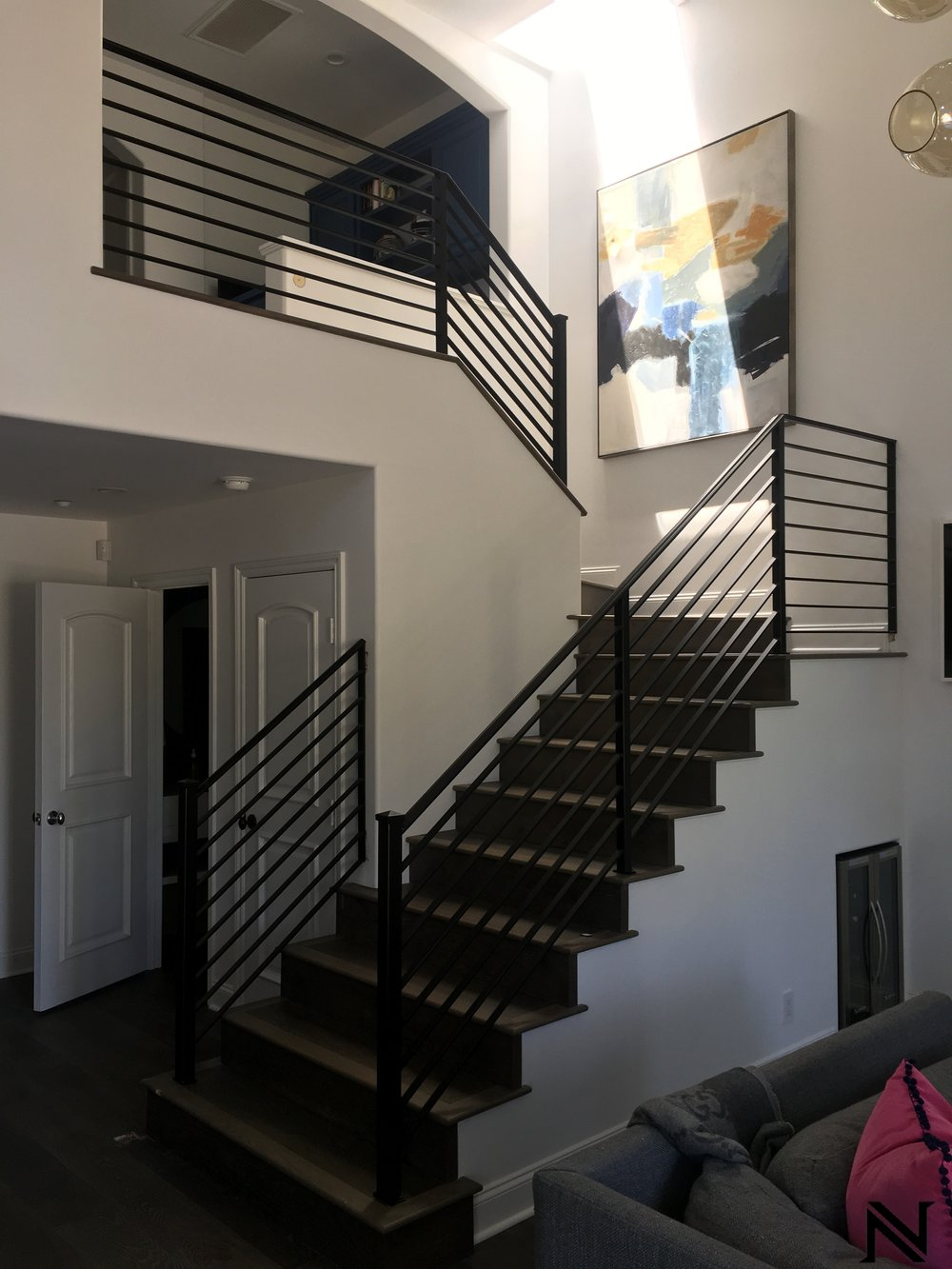 Staircase Railing Design Ideas — Ornamental Iron Works ...