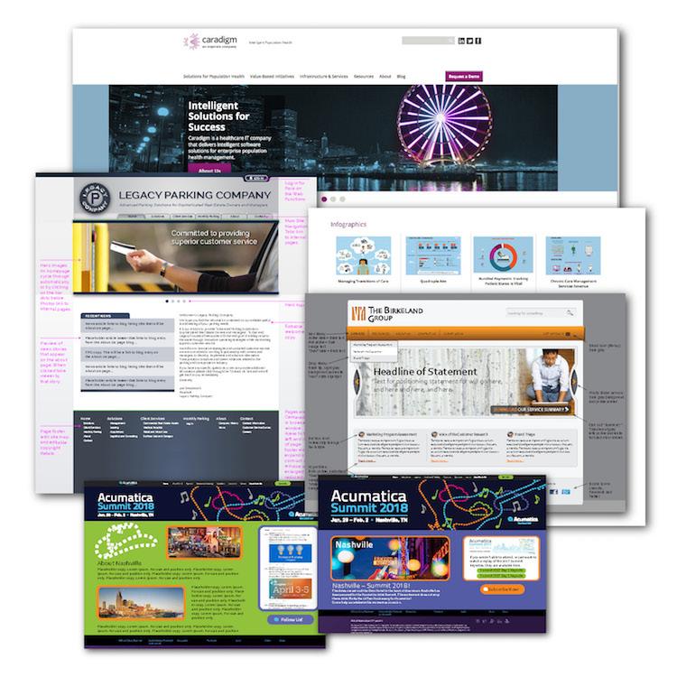 Website design & graphic support