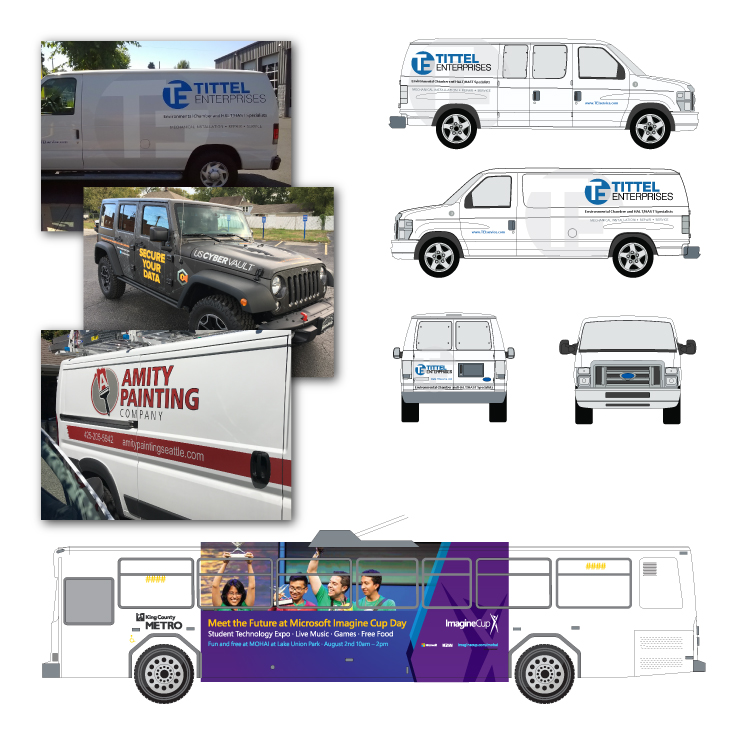 Vehicle graphics & branding