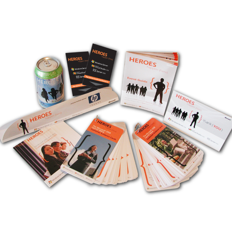 Campaign-branded materials