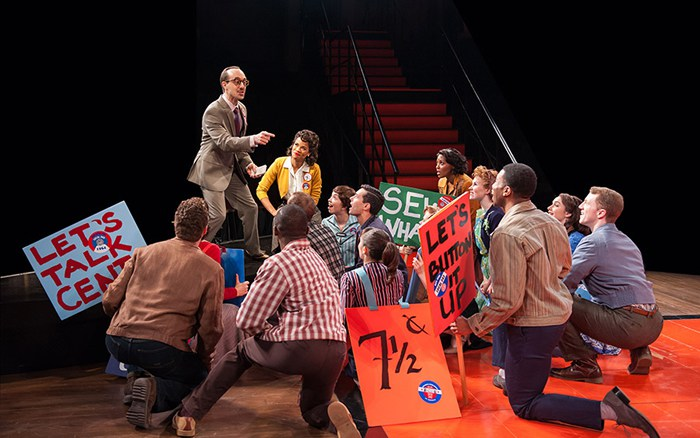 Seven and a Half Cents (The Pajama Game at Arena Stage)