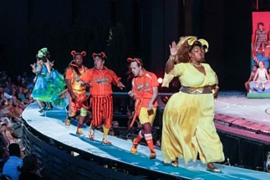 Blakely as a Wickersham in Seussical at The MUNY