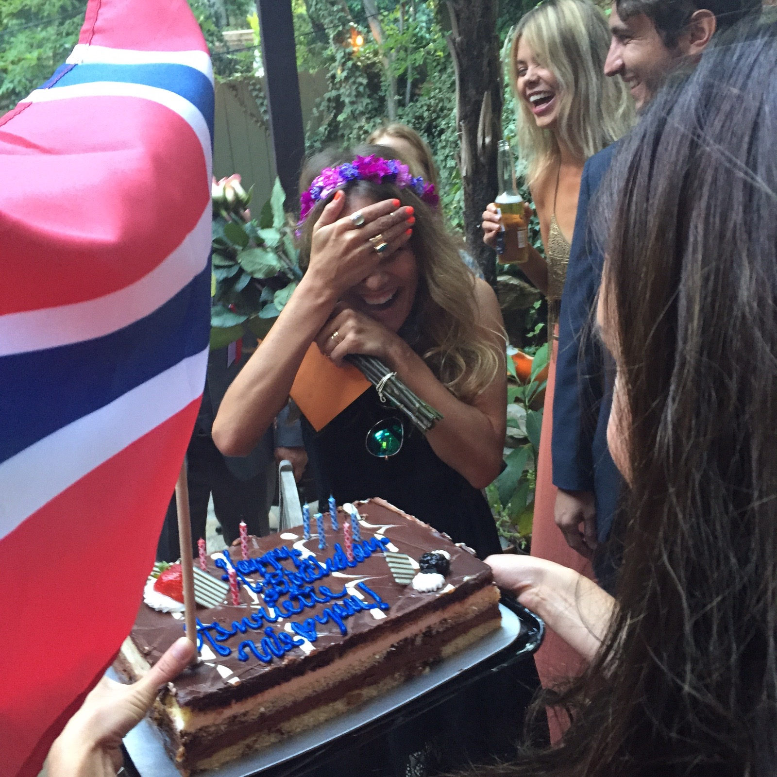 May 17th, 2015 - Surprise B-Day party for me before going to the May 17th afterparty.