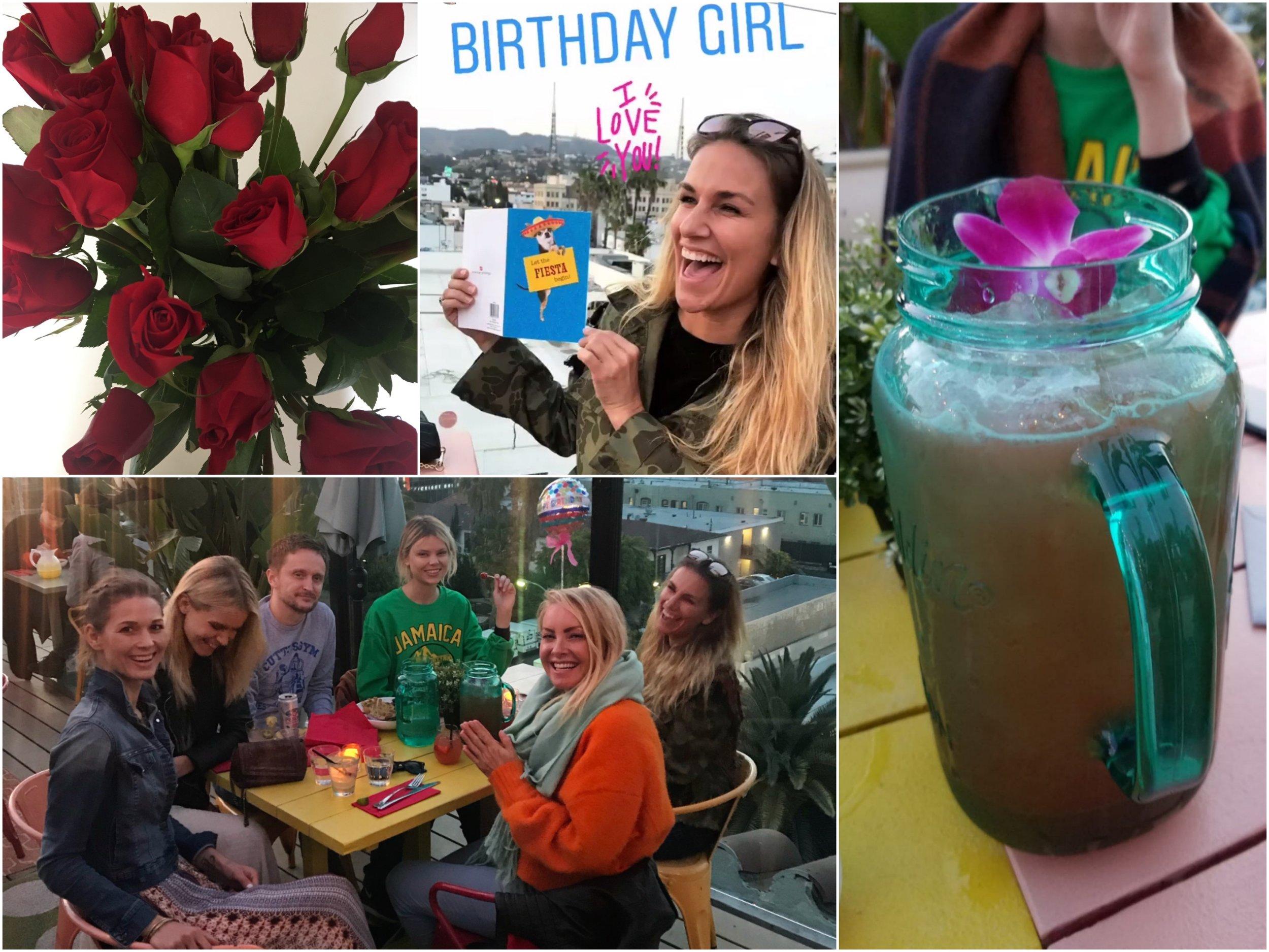 Celebrating my birthday with Talita, Hanne, Tommy, Kamilla and Anne Lena <3