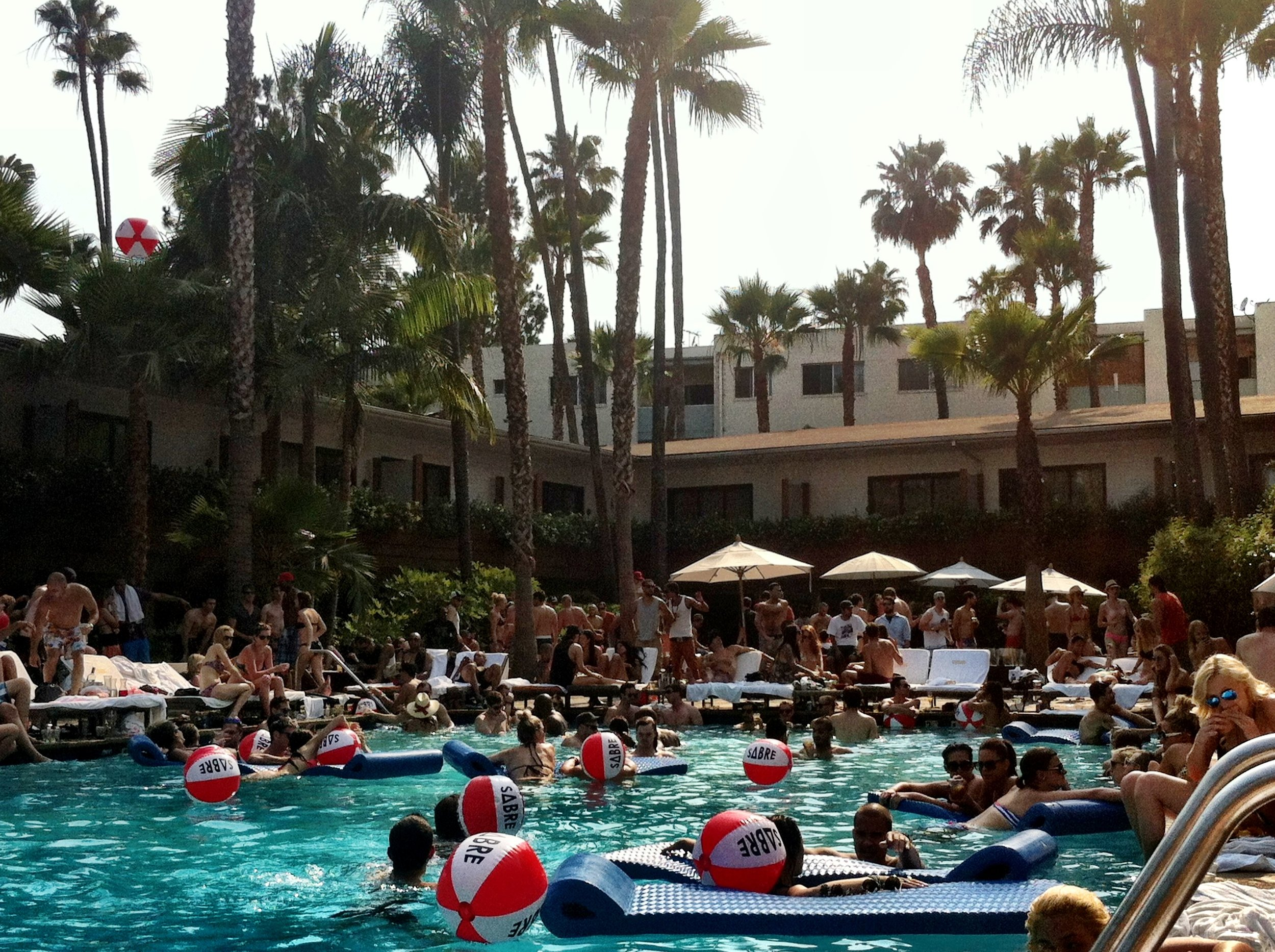 Roosevelt Hotel is always packed each weekend during the summer.