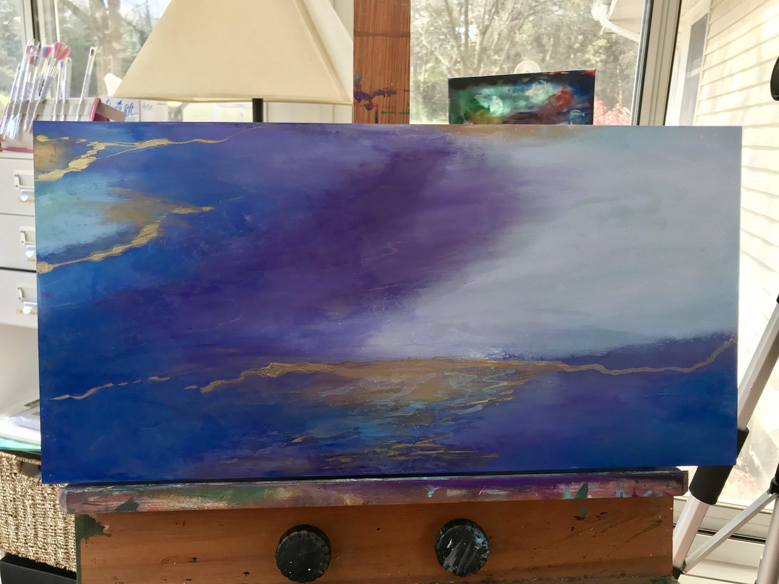 Work in Progress… before sealing