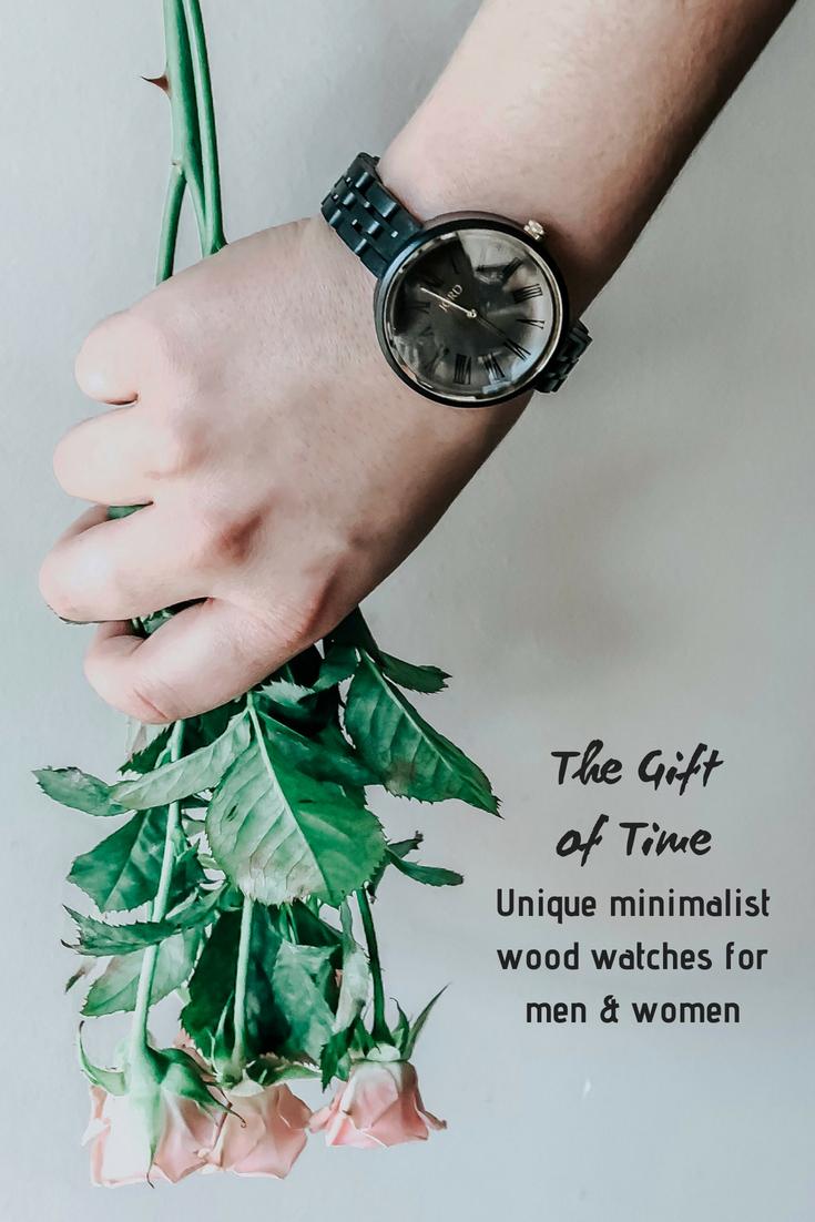 unique minimalist wood watch