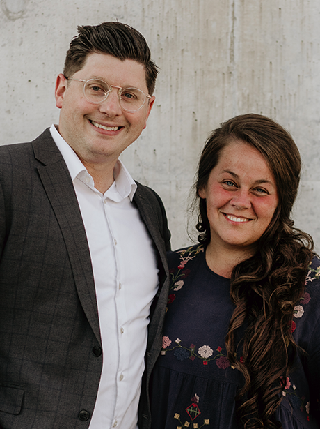 Assistant Pastor + Campus Pastor    Alan + Heather Robertson   Pastor Alan began his ministry career at LifePoint in Ruston, LA in 2008 as Student Pastor. In 2010, He married Heather and they continued to serve in that capacity. After briefly moving to Memphis, TN they returned to Ruston in 2014 to serve in the role of Associate Pastor. In 2015 Alan transitioned into the role of Lead Pastor where they served for 4 years before moving to Bentonville. Alan is an avid reader, self-diagnosed pop-culture nerd, but most importantly, a lover of people with a desire to see everyone growing in and sharing their faith. Heather is compassionate and caring. Along with motherhood, homeschooling and assisting her husband, she has lead several teams in various capacities. Their two sons, Whitman and Harrison, are the center of their world.