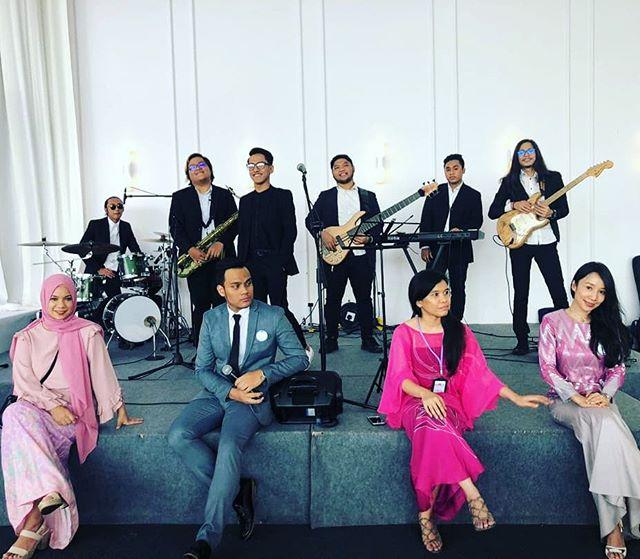 The wedding crew #amirilXanis  @agalmusik @naquibfaeeztheemcee #weddingcoordinatorkl #weddingplannerkl #asianatelier