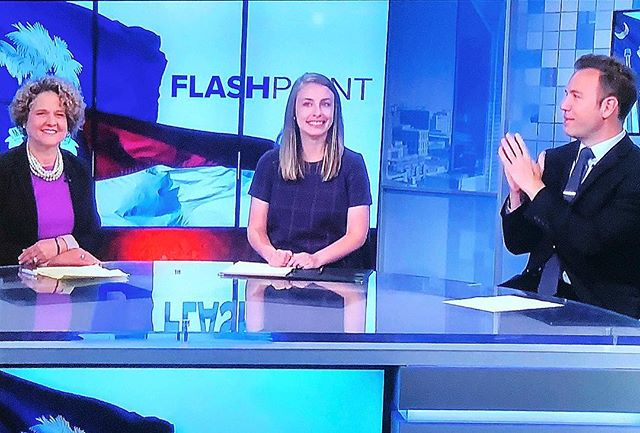 🎥 Great conversation about women in politics, the need for civility and more on @wcnctv Flashpoint this morning. ☀️ #ncpol #NoraforNC