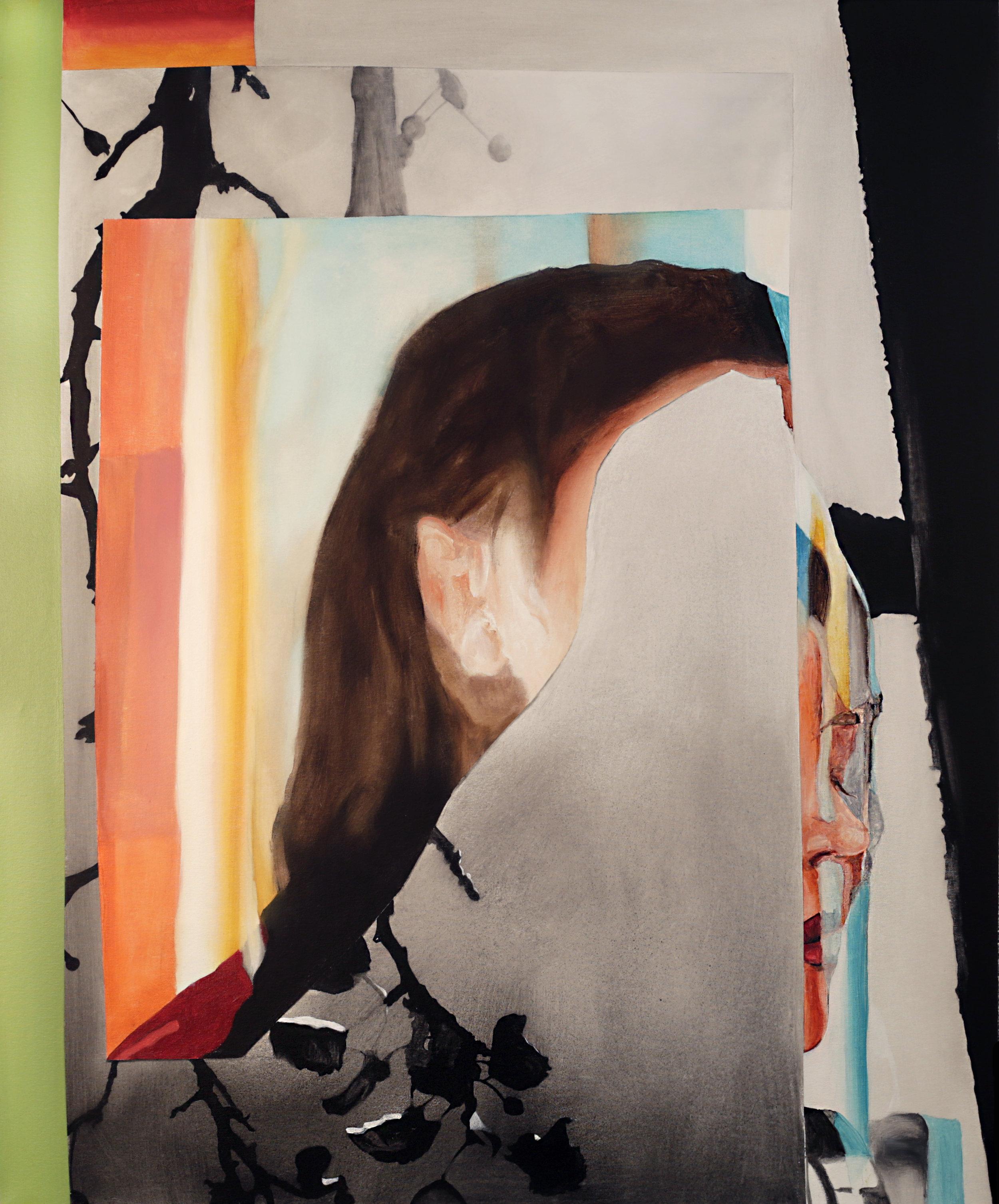 'Broken colour' Acrylic on canvas 122 x 100cm 2018 $3700.jpg