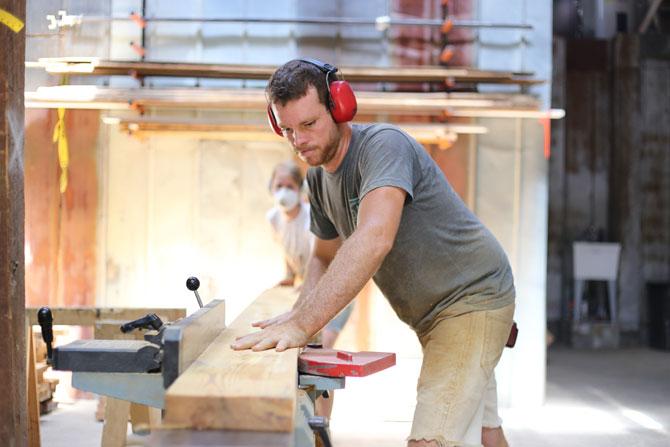 Oneta Woodworks Salvages Athens - Flagpole Athens | September 16, 2015