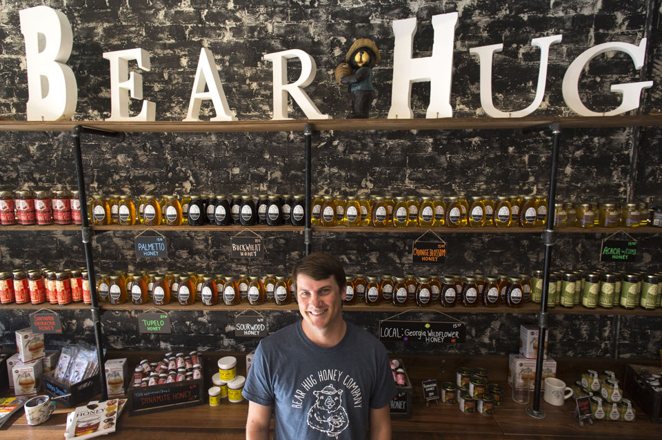 Honey, I'm home: Athens' newest business specializes in all things honeybee - Red & Black | September 21, 2017