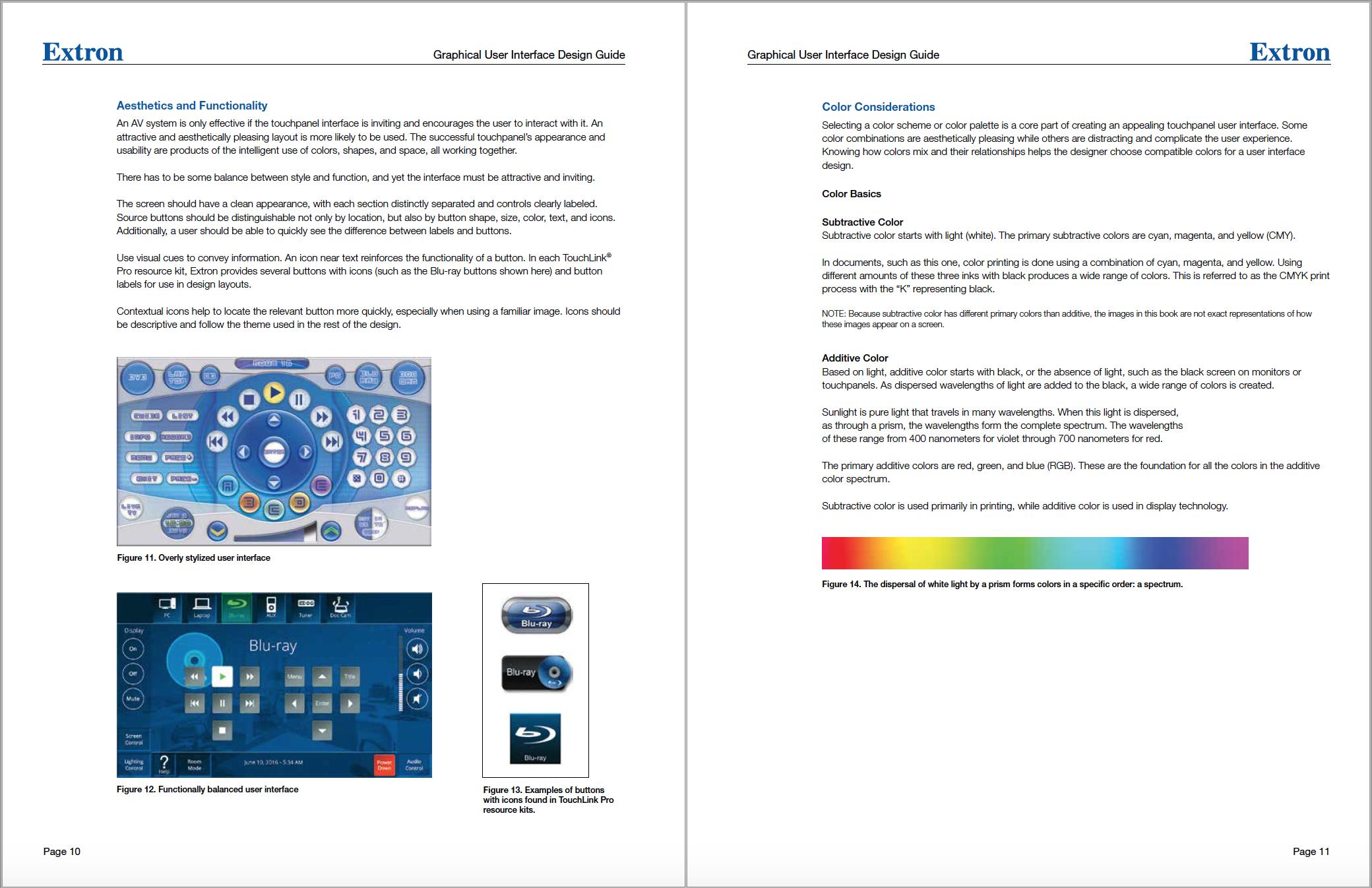 Previous version of the GUI Design Guide.