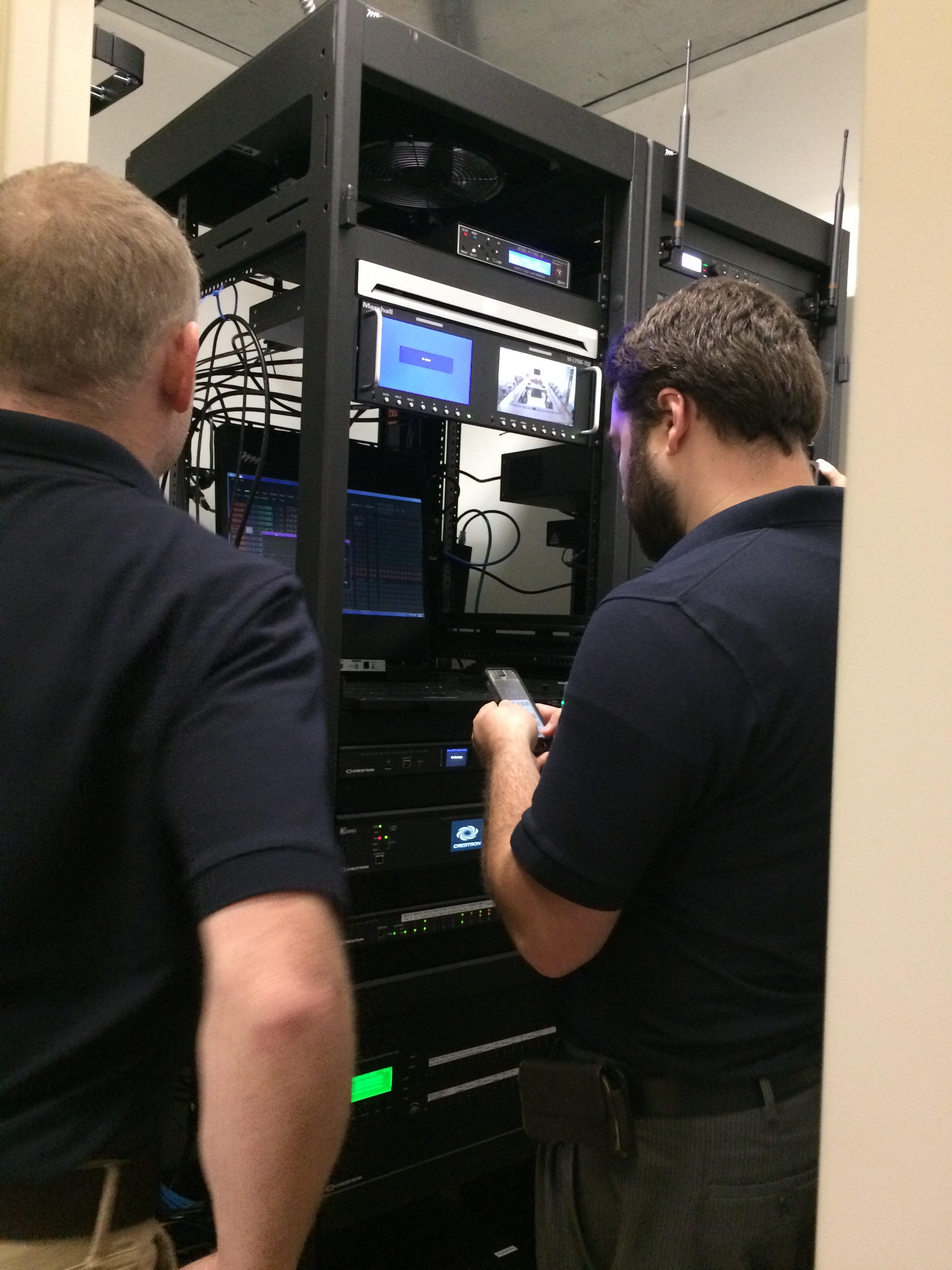 Observing integrators in the field creating and troubleshooting their touch panel devices.