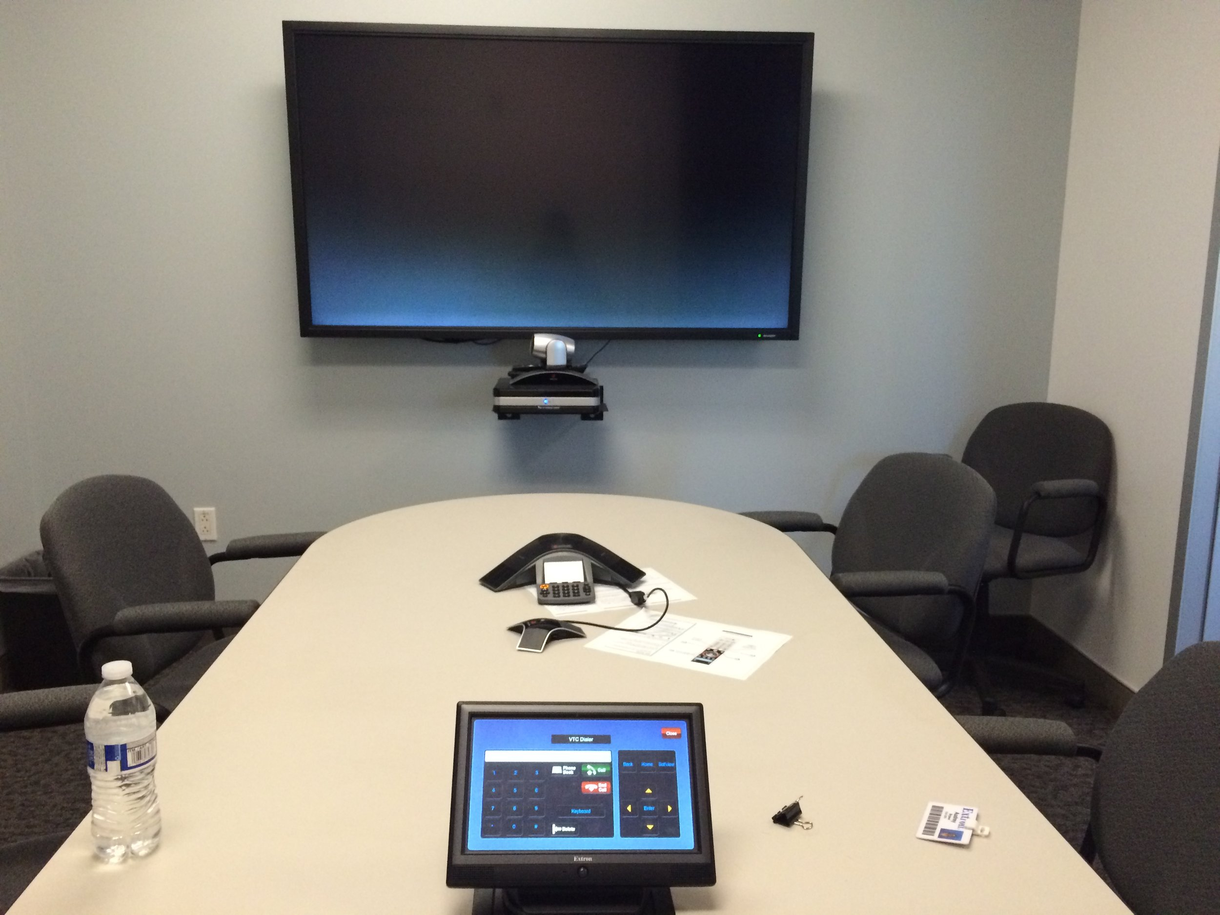Setting up usability tests where participants would attempt to perform tasks such as making a video conference call.