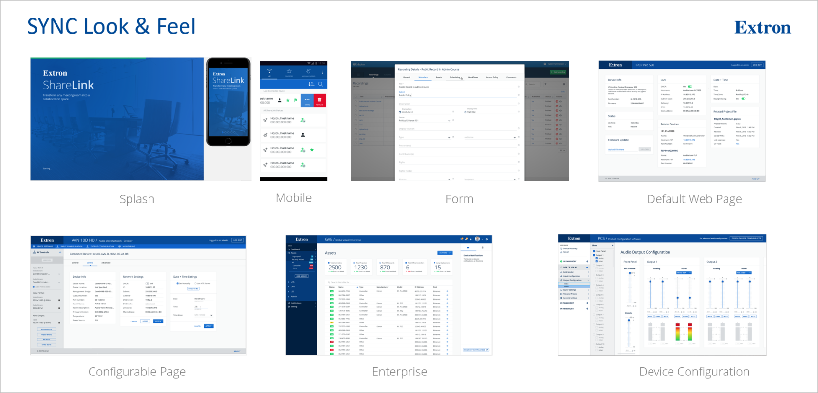 Showcasing how applying a design system can create consistency throughout our product line.