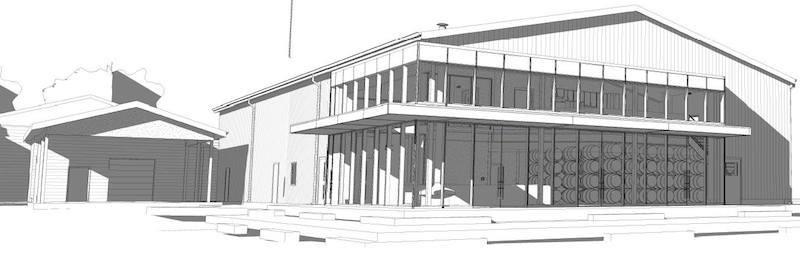 Future design of Ironwood Cider House