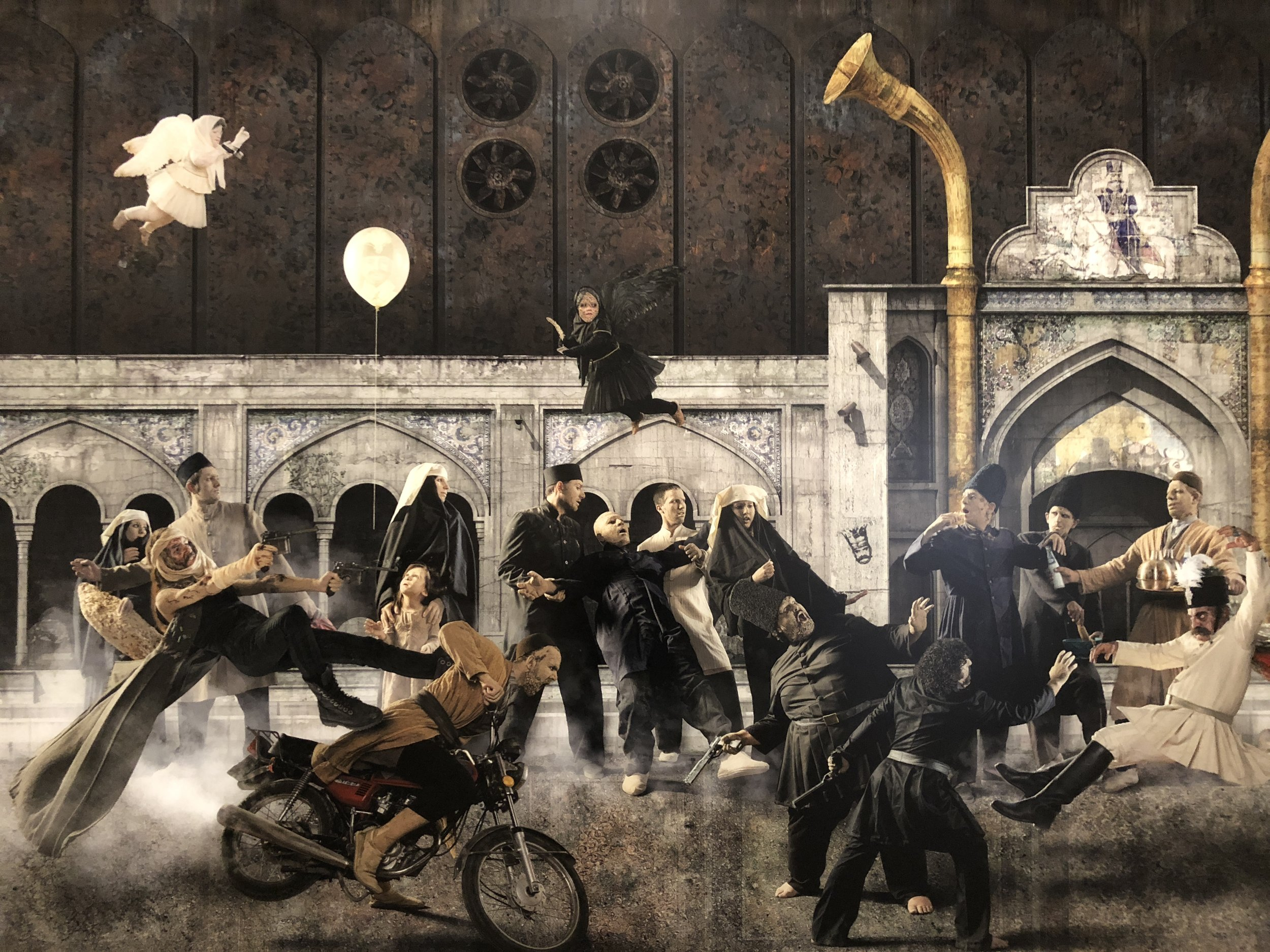 Siamak Filizadeh,  Assassination  2014 Inject print