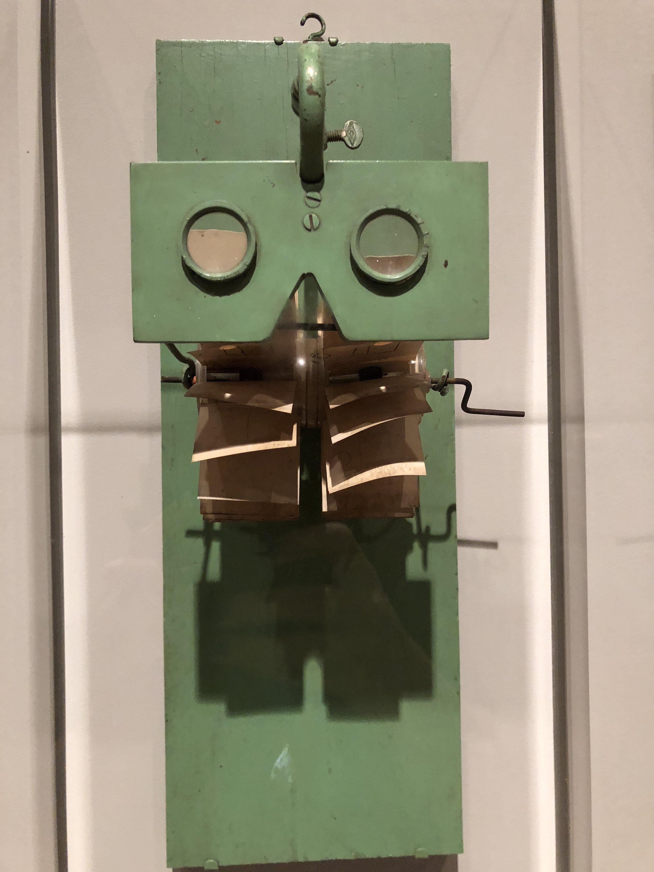 Robert Breer,  3D Mutoscope  1978