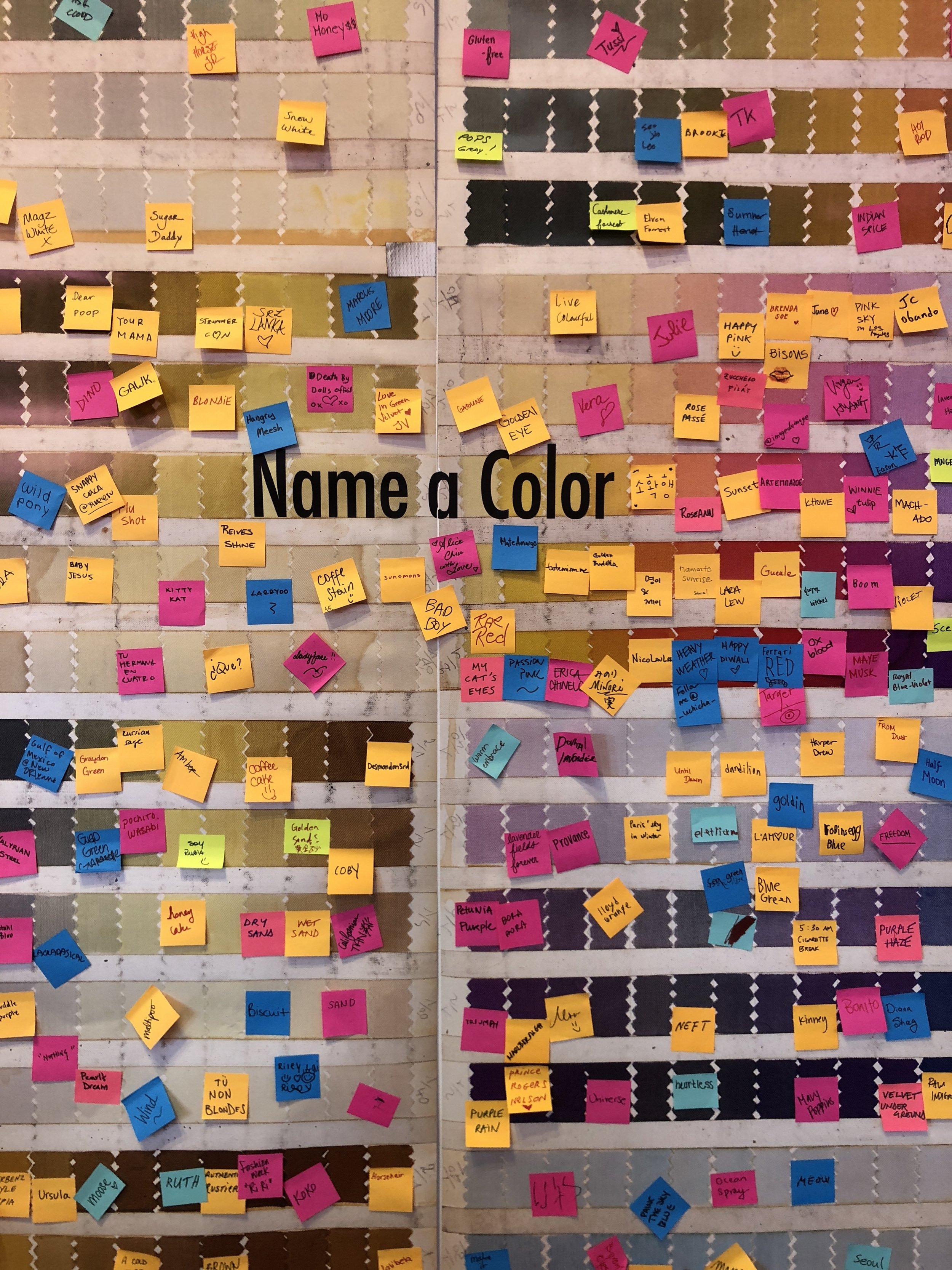 I named my color Malibu.